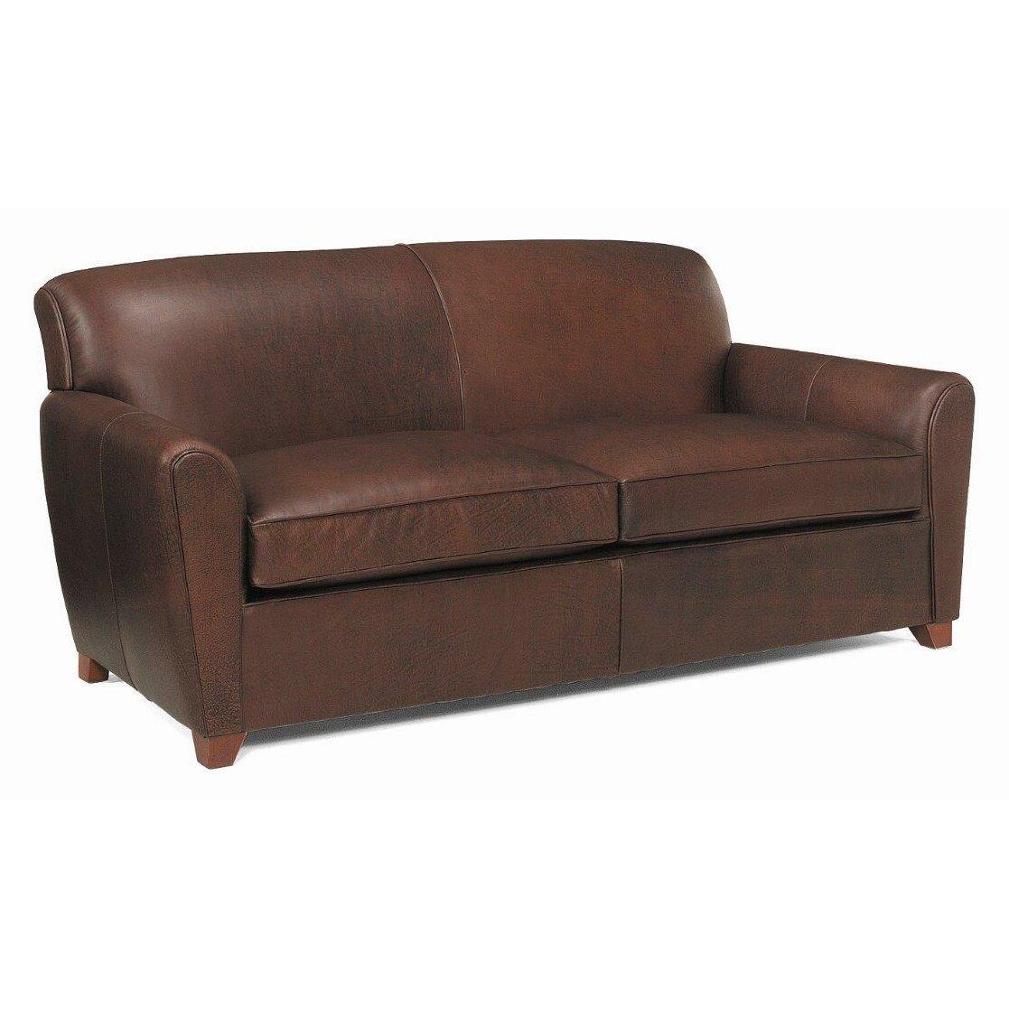 Leathercraft Picasso Leather Sofa Wayfair