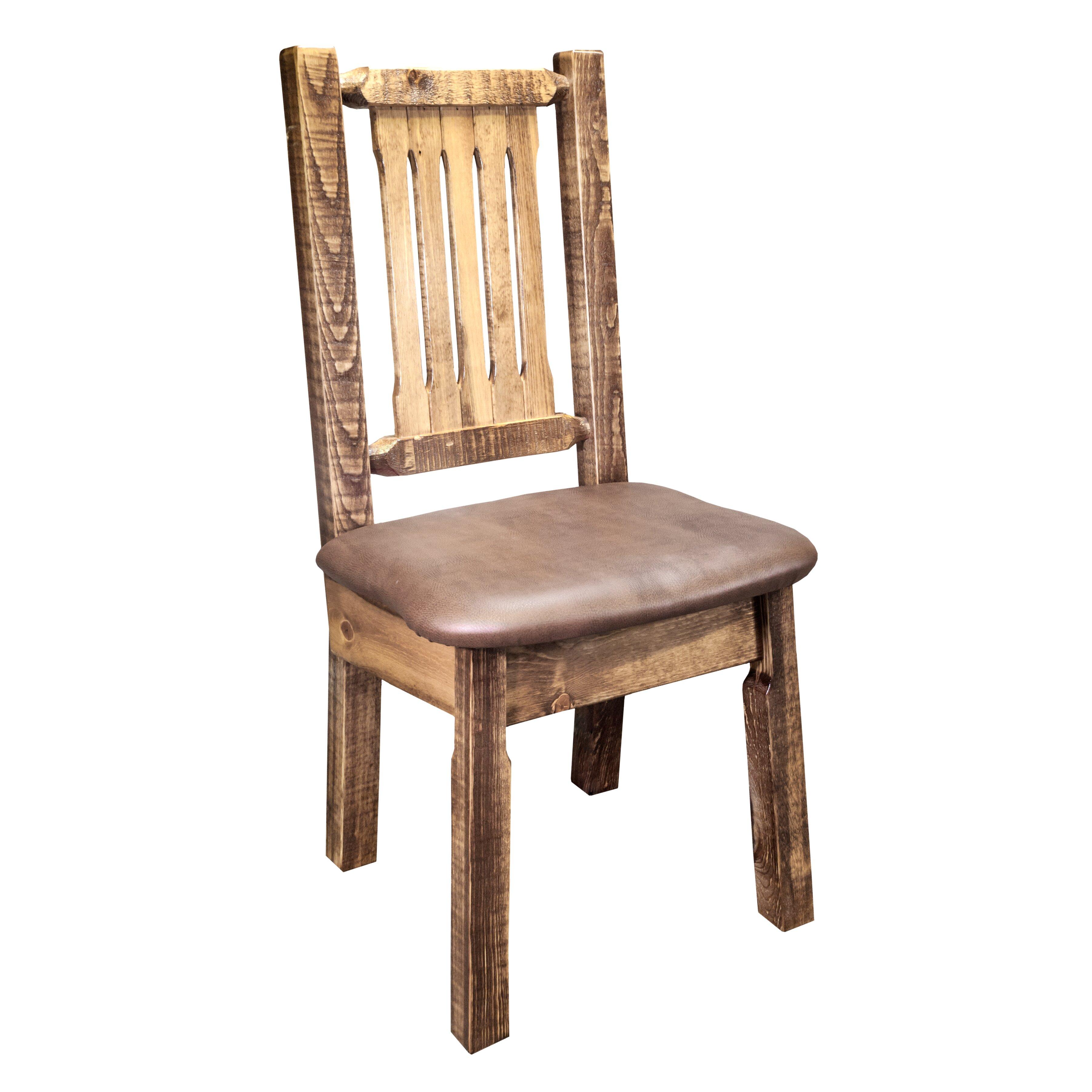 Montana Woodworks 174 Homestead Side Chair Amp Reviews Wayfair