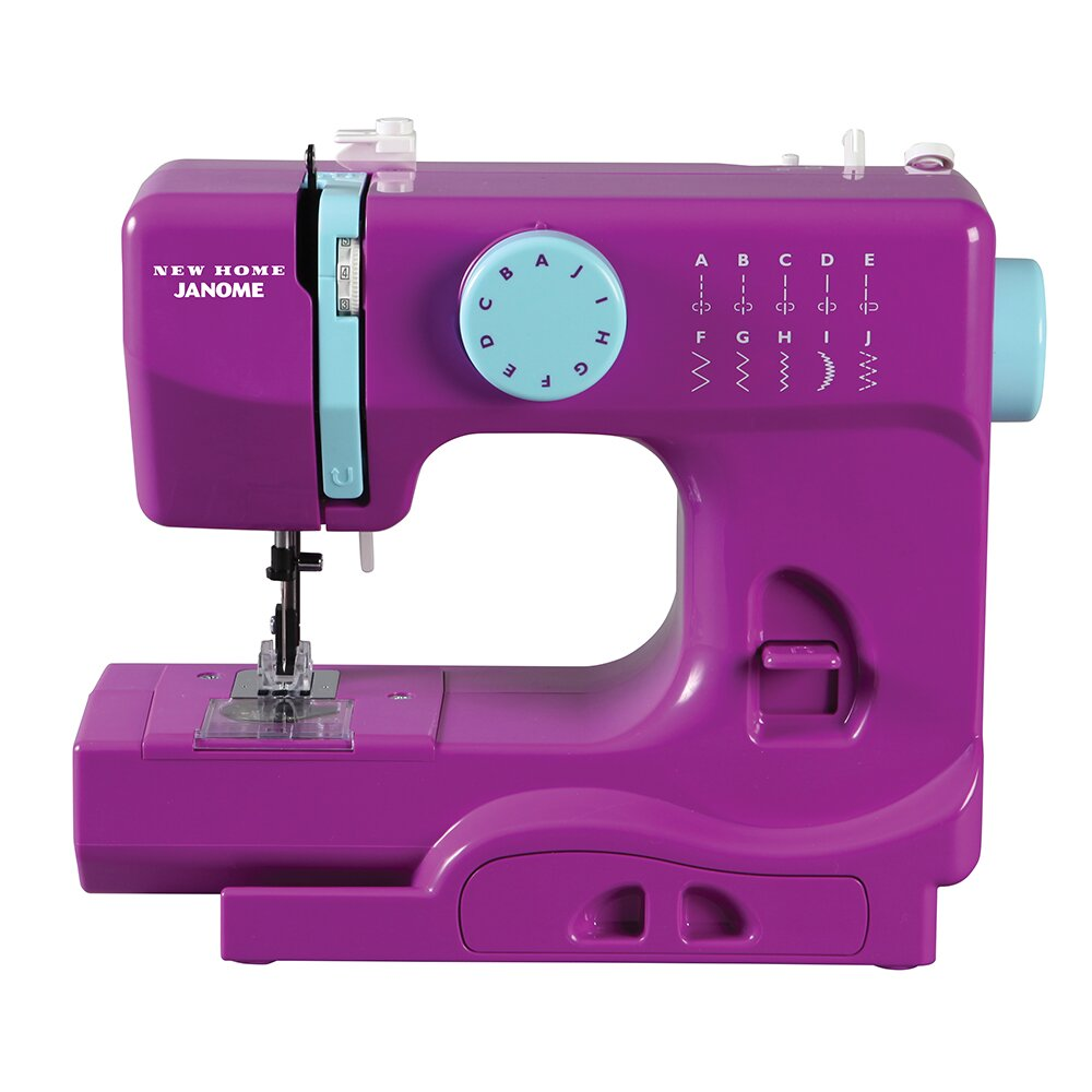 square and portable sewing machine