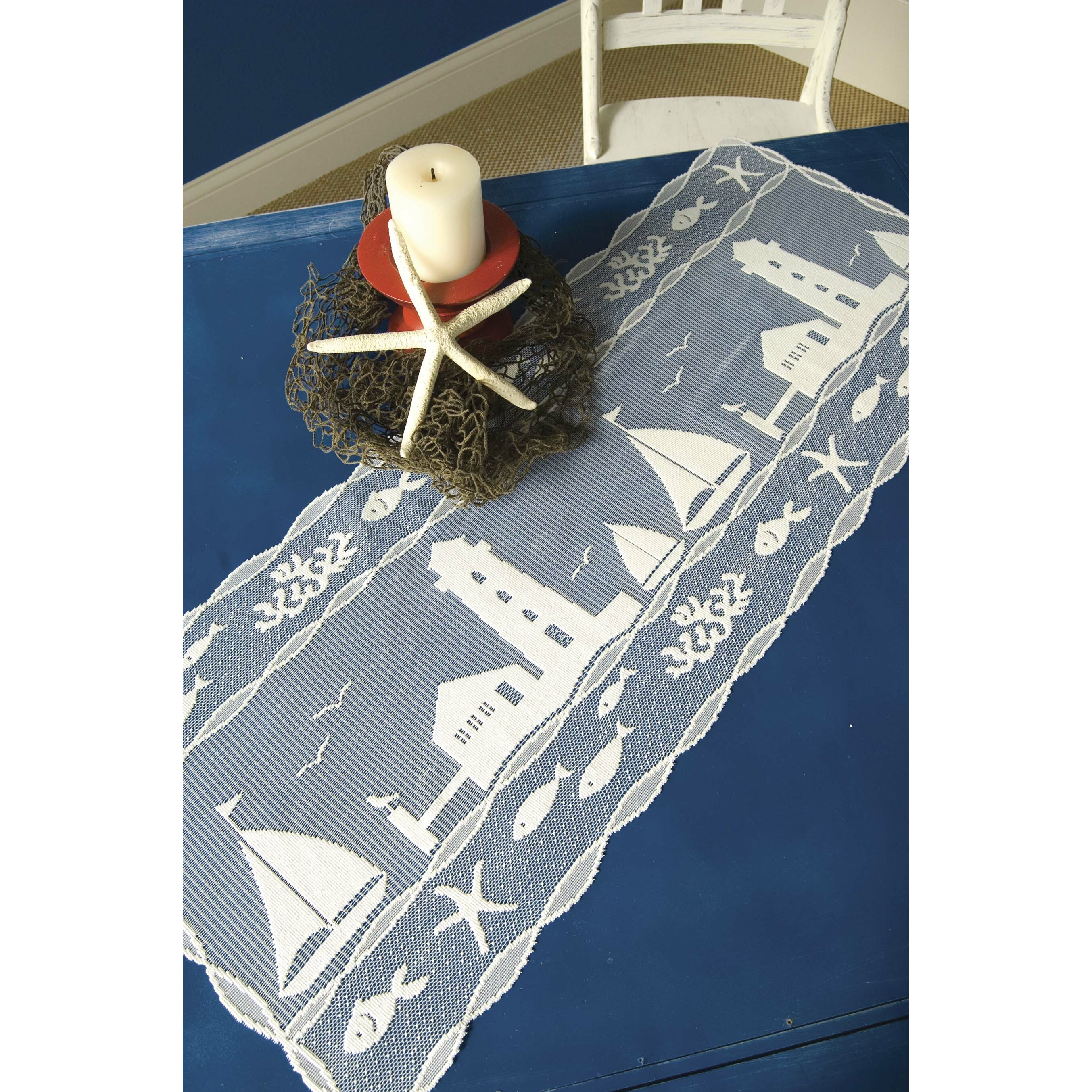 Harbor Lights: Heritage Lace Harbor Lights Table Runner & Reviews