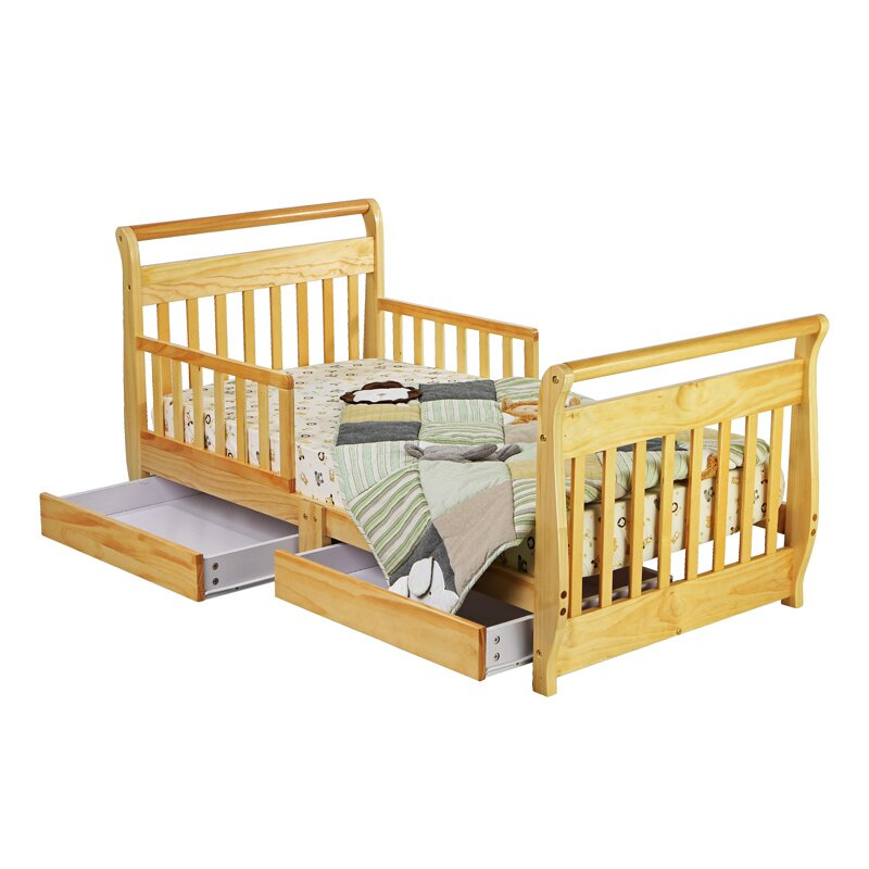 Dream On Me Convertible Toddler Bed With Storage Amp Reviews