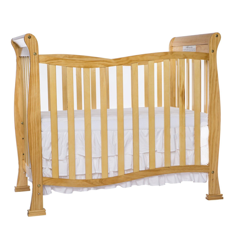 Dream On Me Piper 4-in-1 Convertible Mini Crib & Reviews ...