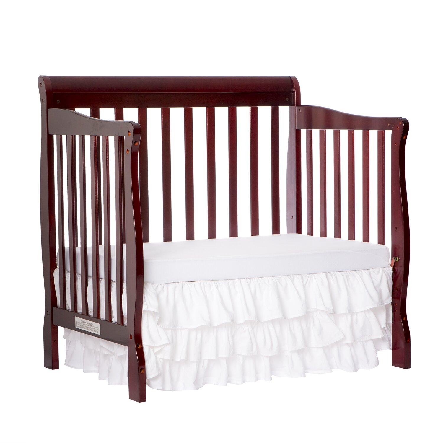 Dream On Me Aden 4-in-1 Mini Convertible Crib & Reviews