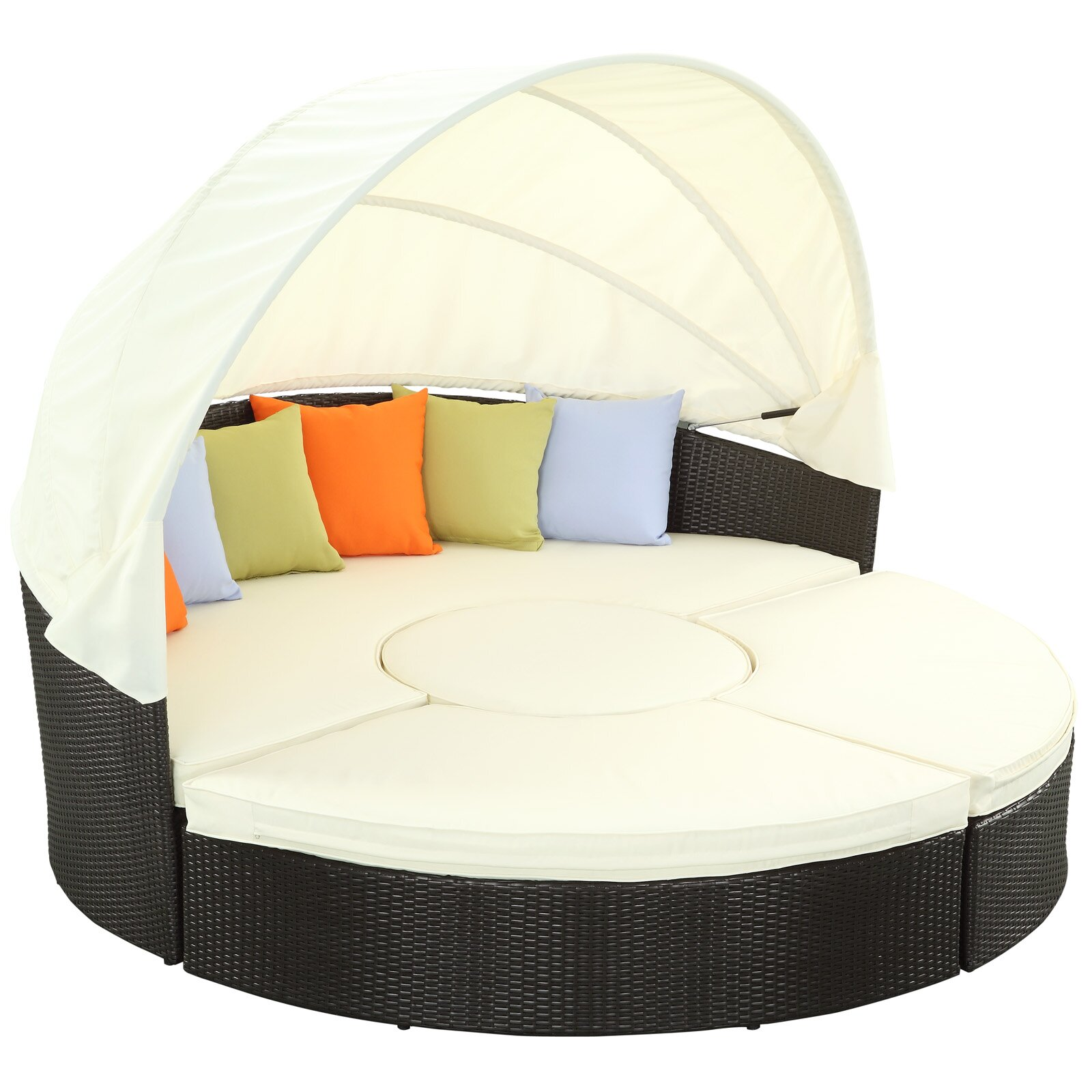 Modway Quest Canopy Daybed with Cushions & Reviews
