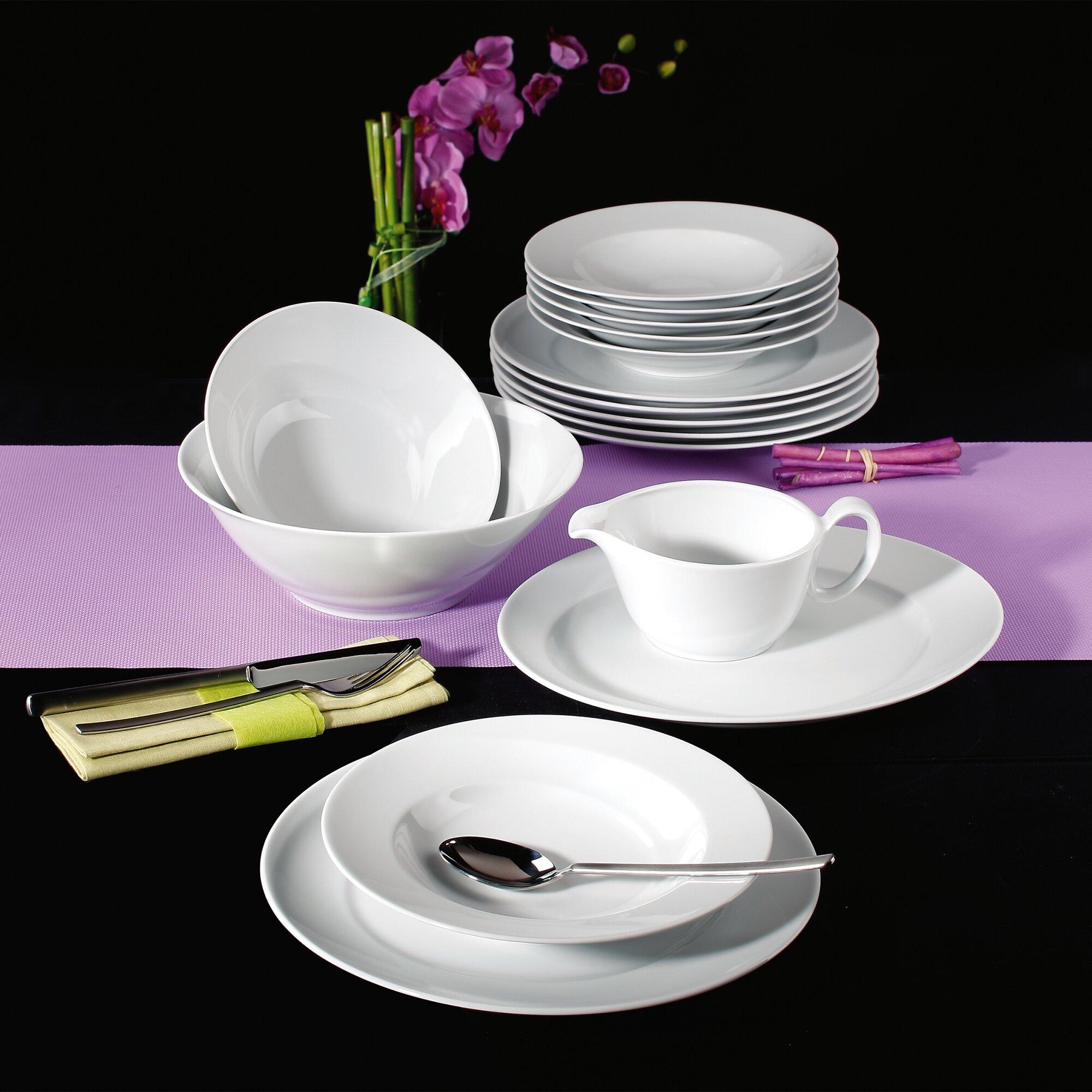seltmann weiden paso 16 piece dinnerware set reviews wayfair uk. Black Bedroom Furniture Sets. Home Design Ideas