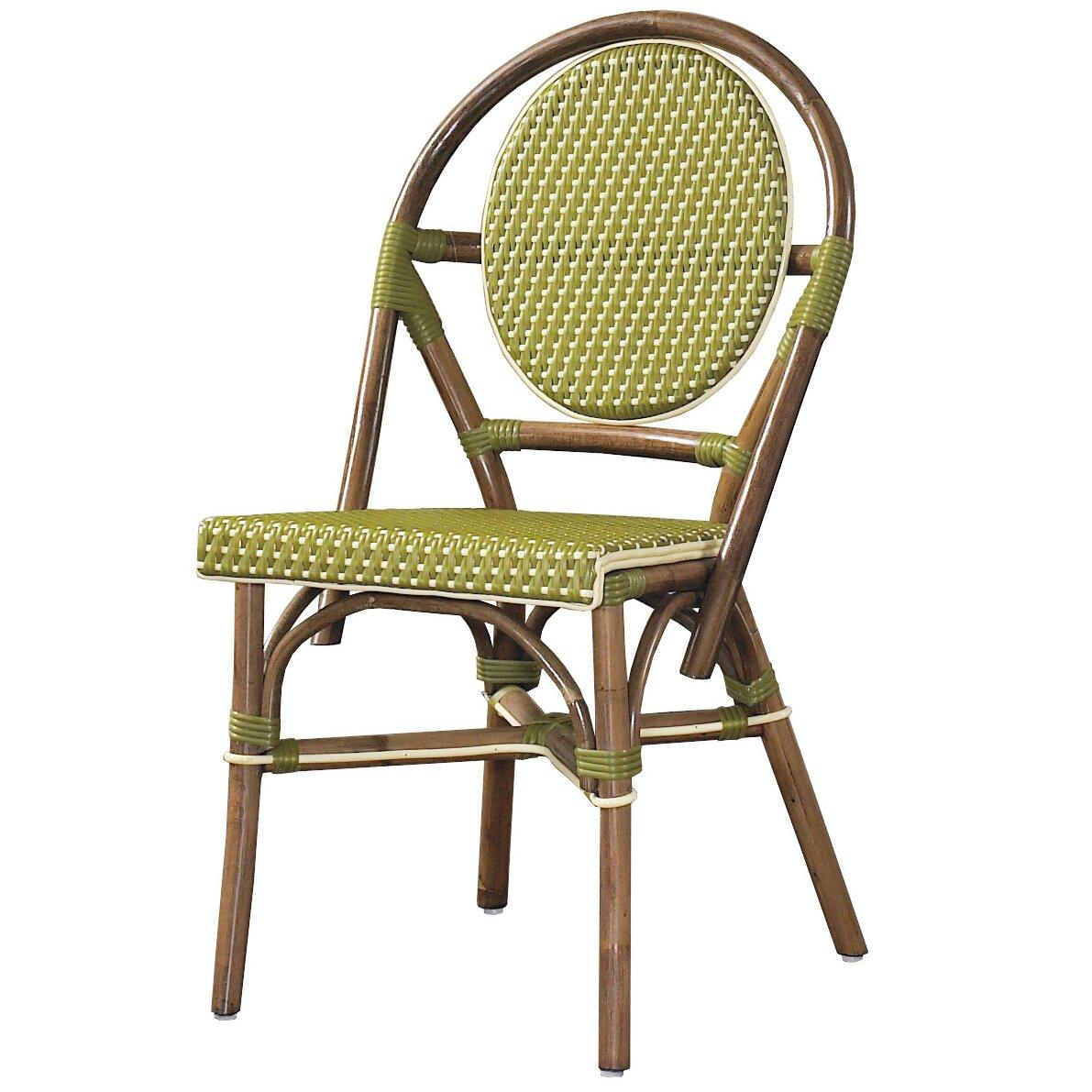Outdoor Cottage Paris Bistro Side Chair Wayfair