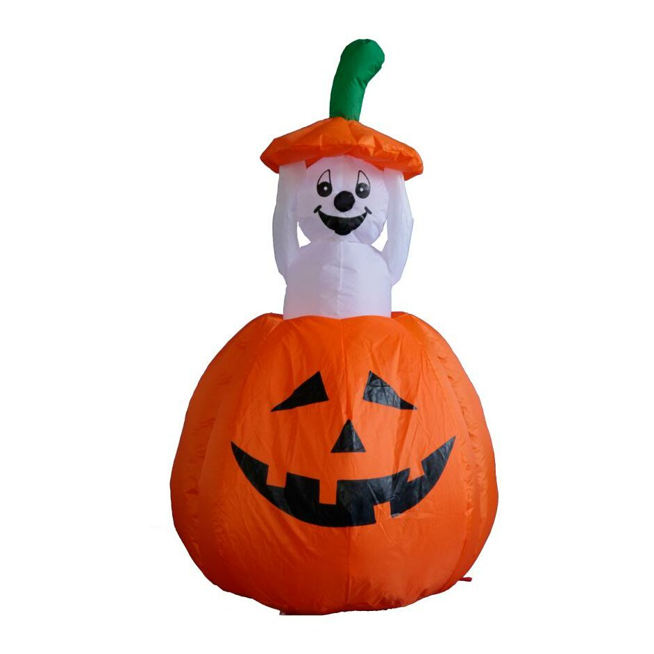 Halloween inflatable pumpkin ghost decoration wayfair