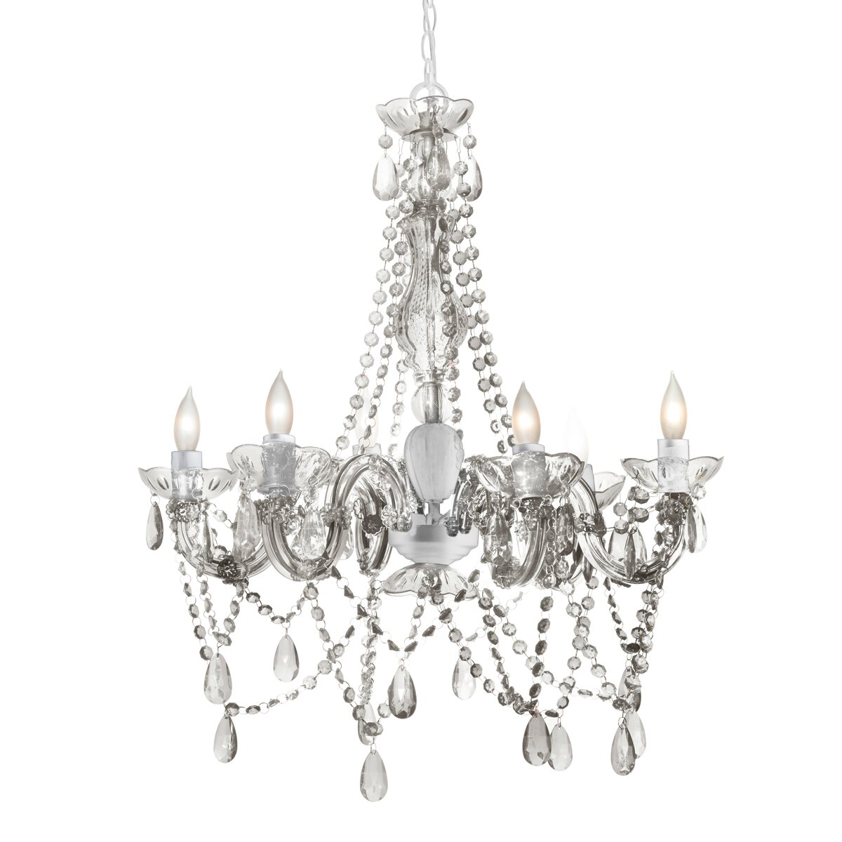 three cheers for girls  6 light chandelier  u0026 reviews