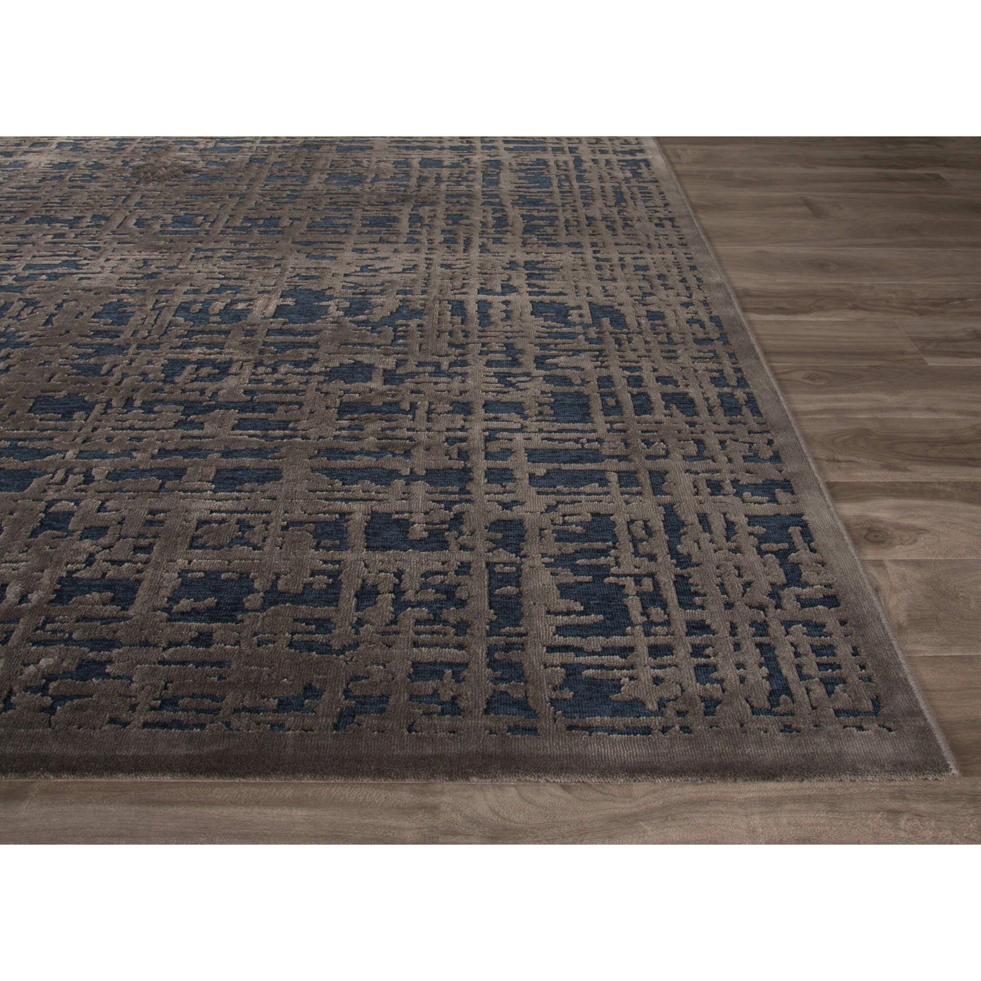 fables blue gray area rug wayfair. Black Bedroom Furniture Sets. Home Design Ideas