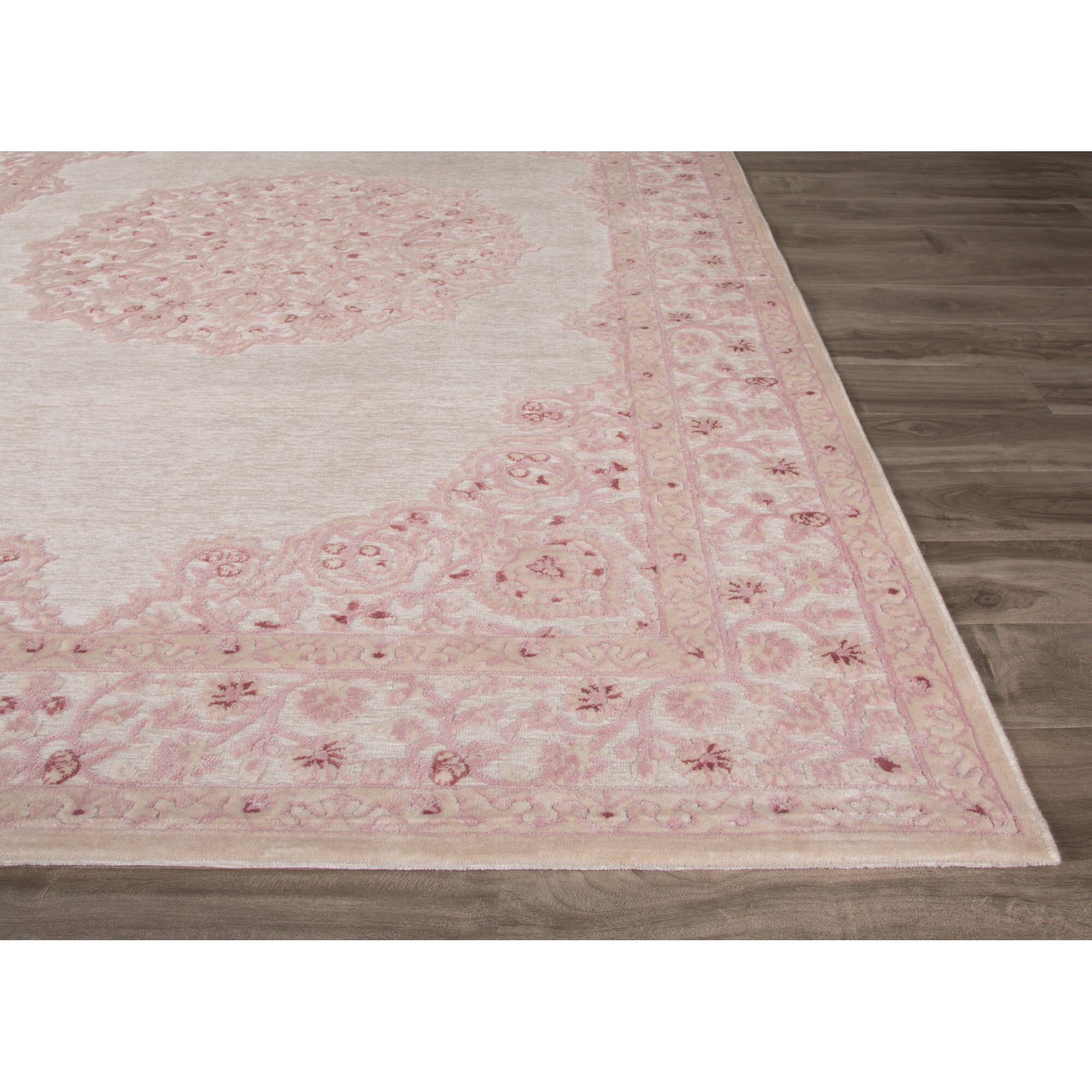 Fables Ivory Pink Area Rug Wayfair
