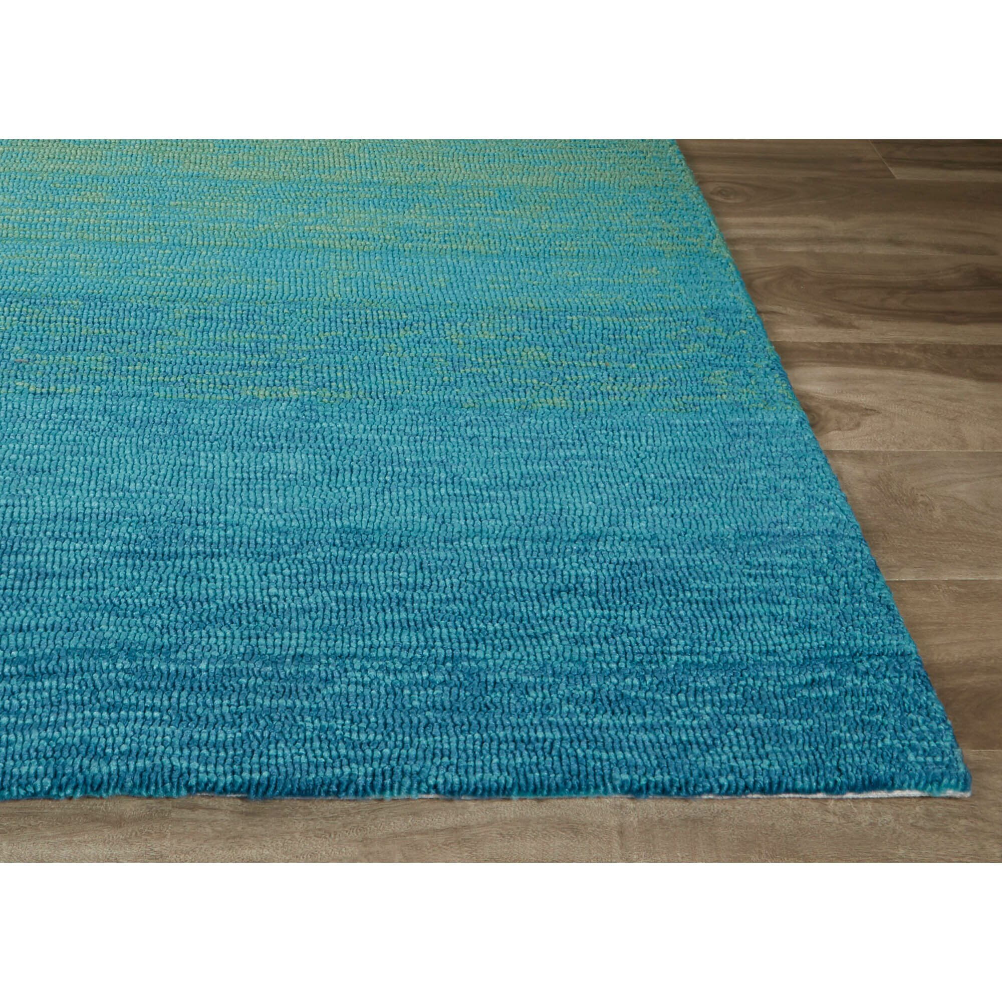 Jaipurliving catalina blue green indoor outdoor area rug for Indoor outdoor carpet green