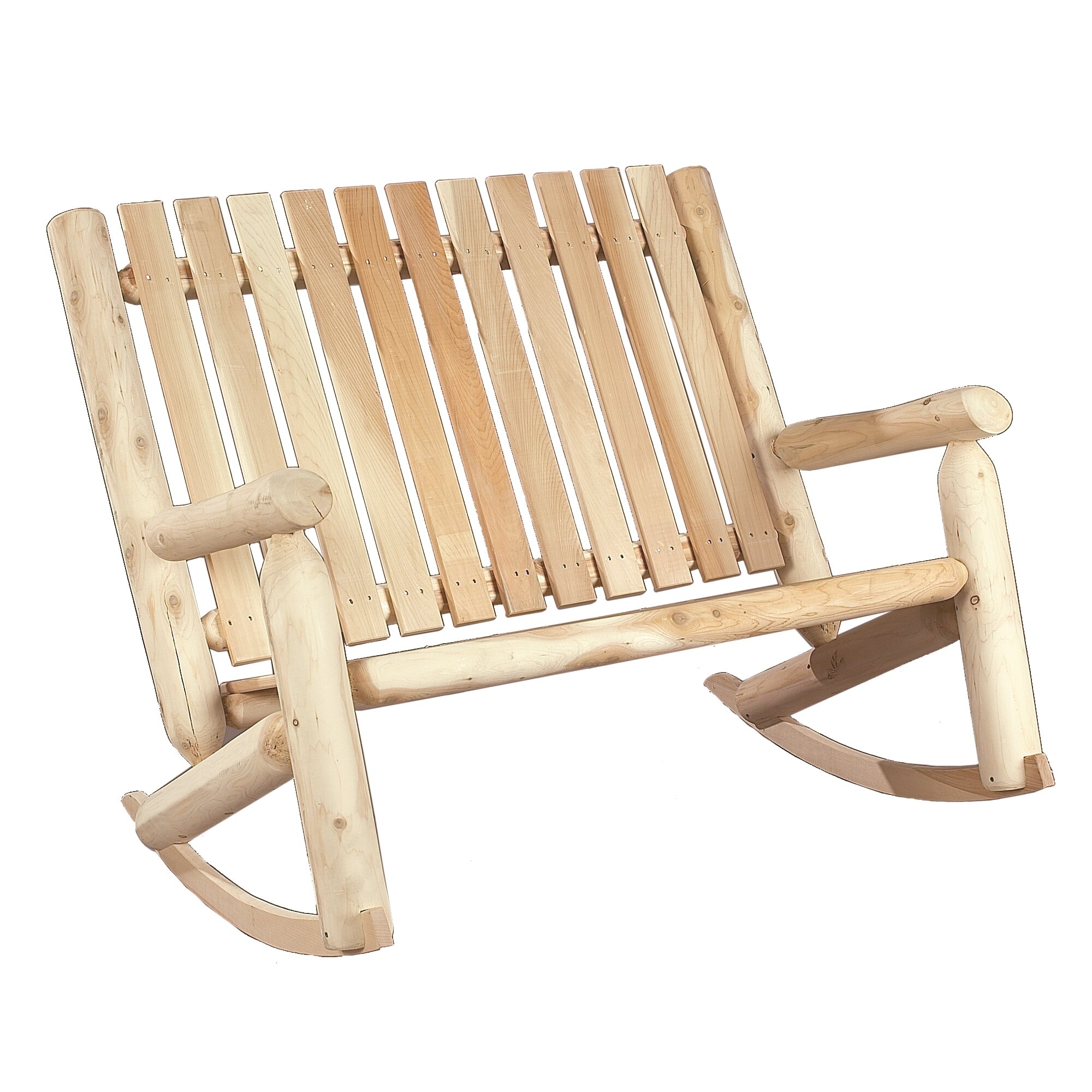 Outdoor Patio Furniture ... Wood Patio Rocking Chairs Rustic Cedar SKU ...