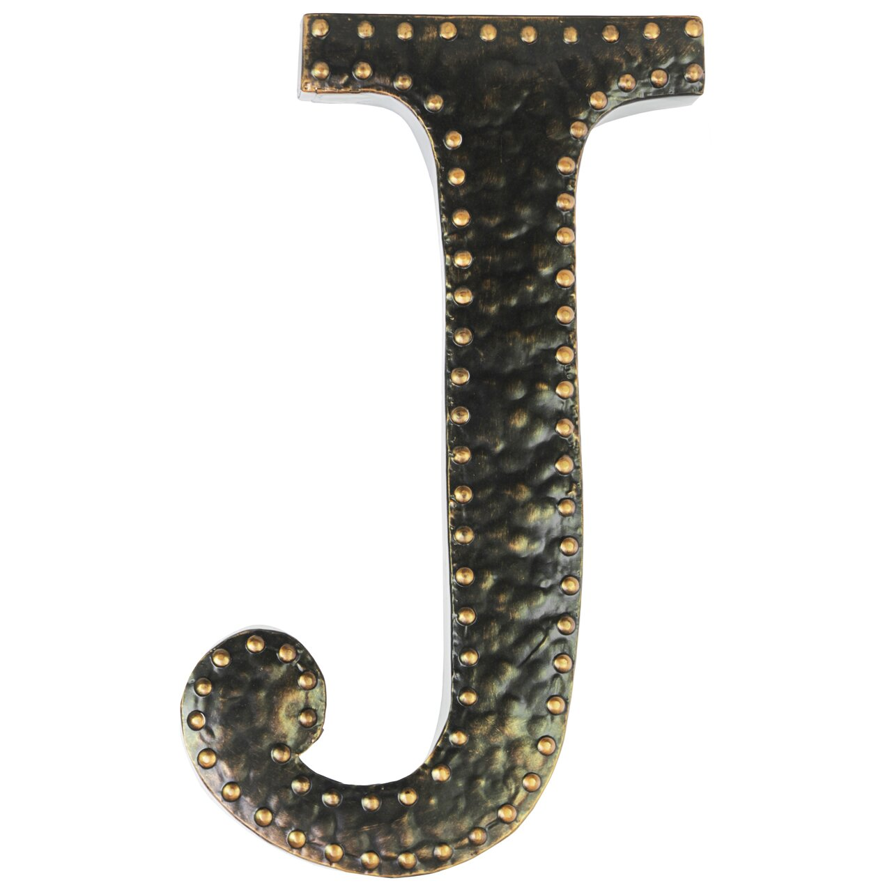 Metal Wall Letters Home Decor: Urban Trends Metal Letter Wall Décor & Reviews