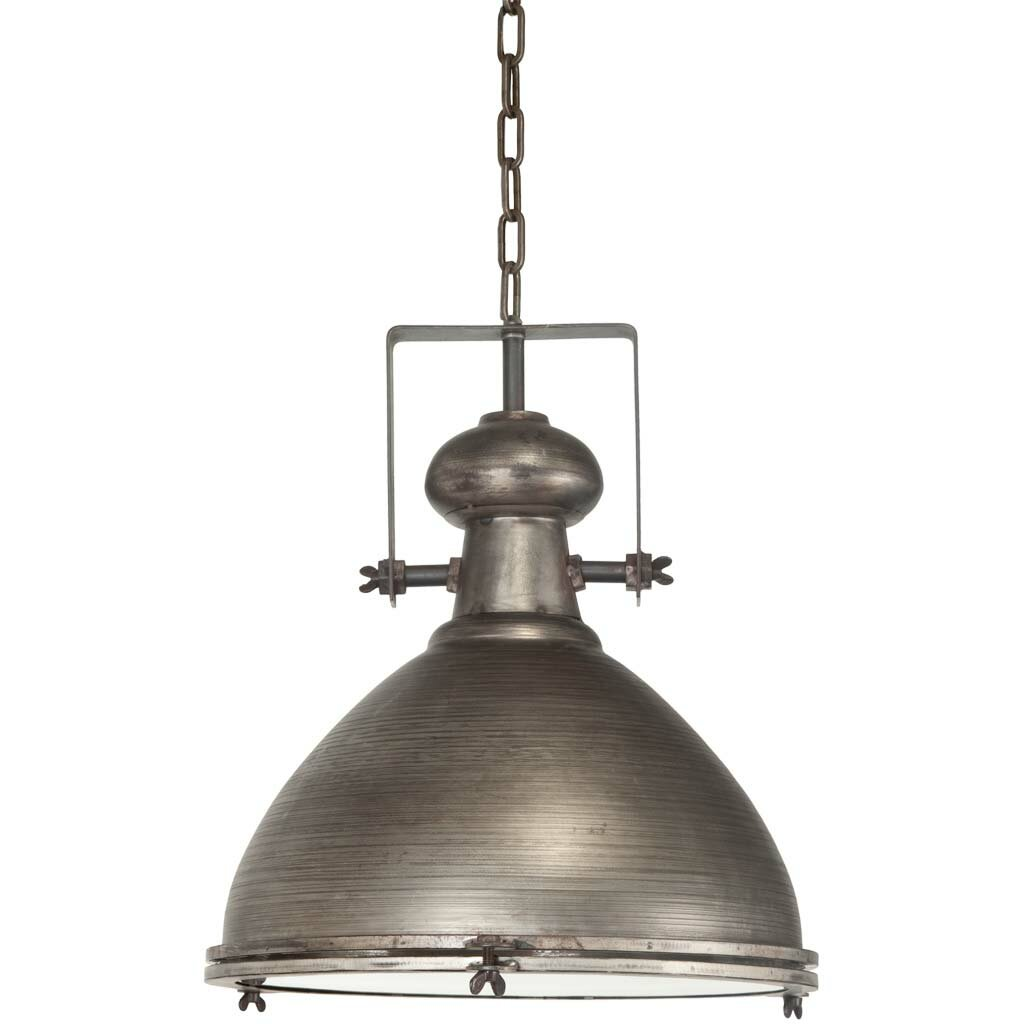 Bashaw 1 Light Bowl Pendant