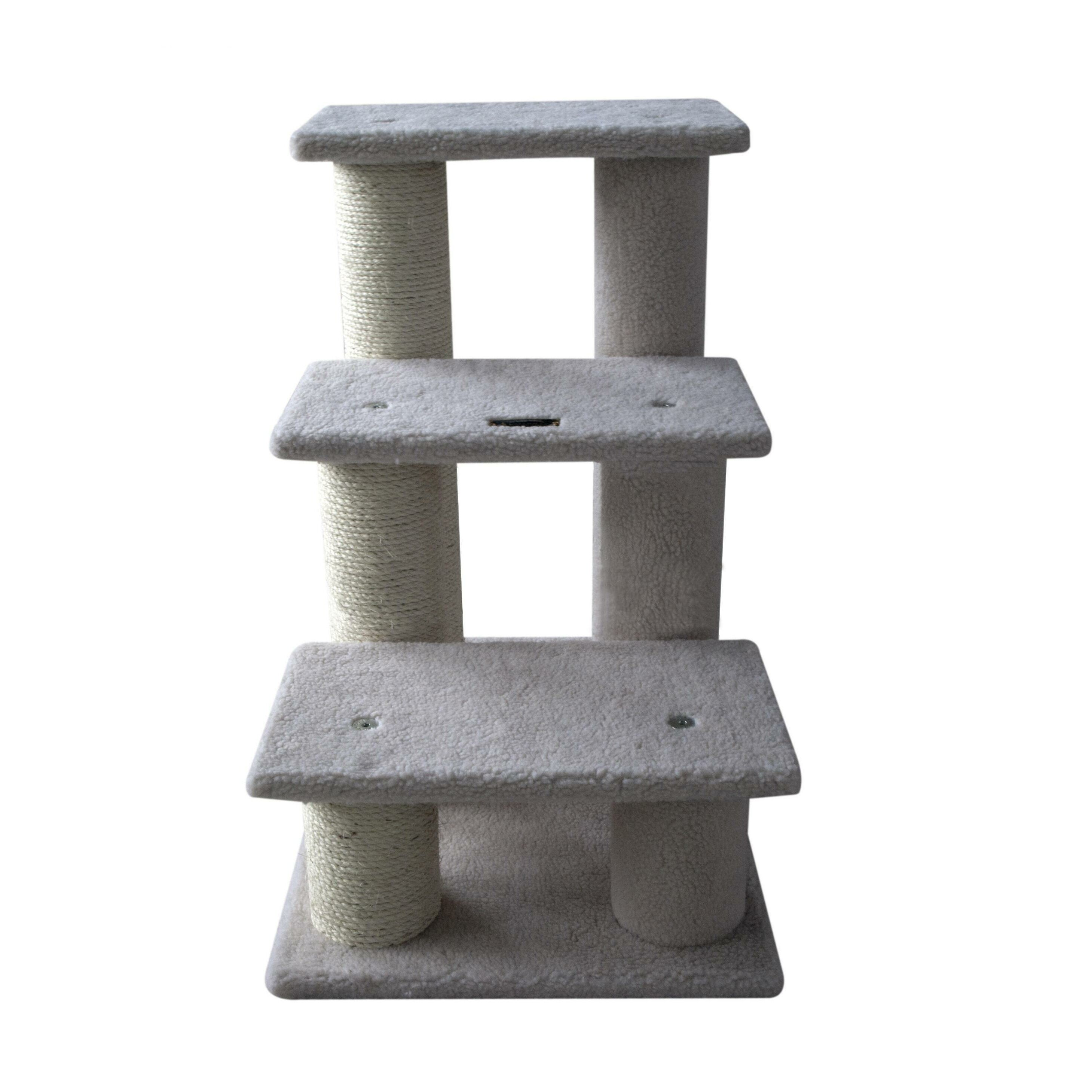 64cm 3 step cat tree wayfair uk for Cat tree steps