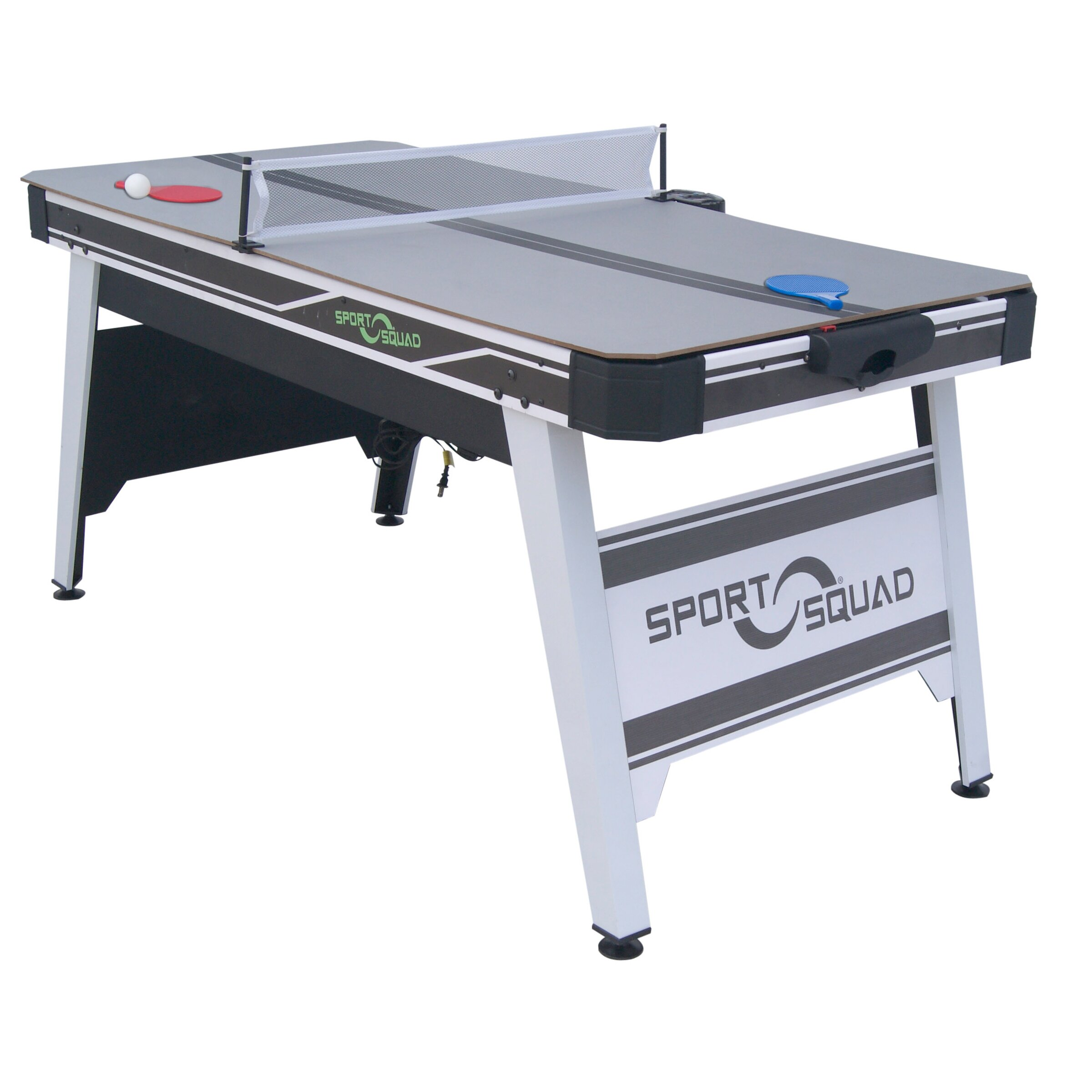 Sportsquad Hx 66 5 39 5 Air Hockey Table With Conversion Top Reviews