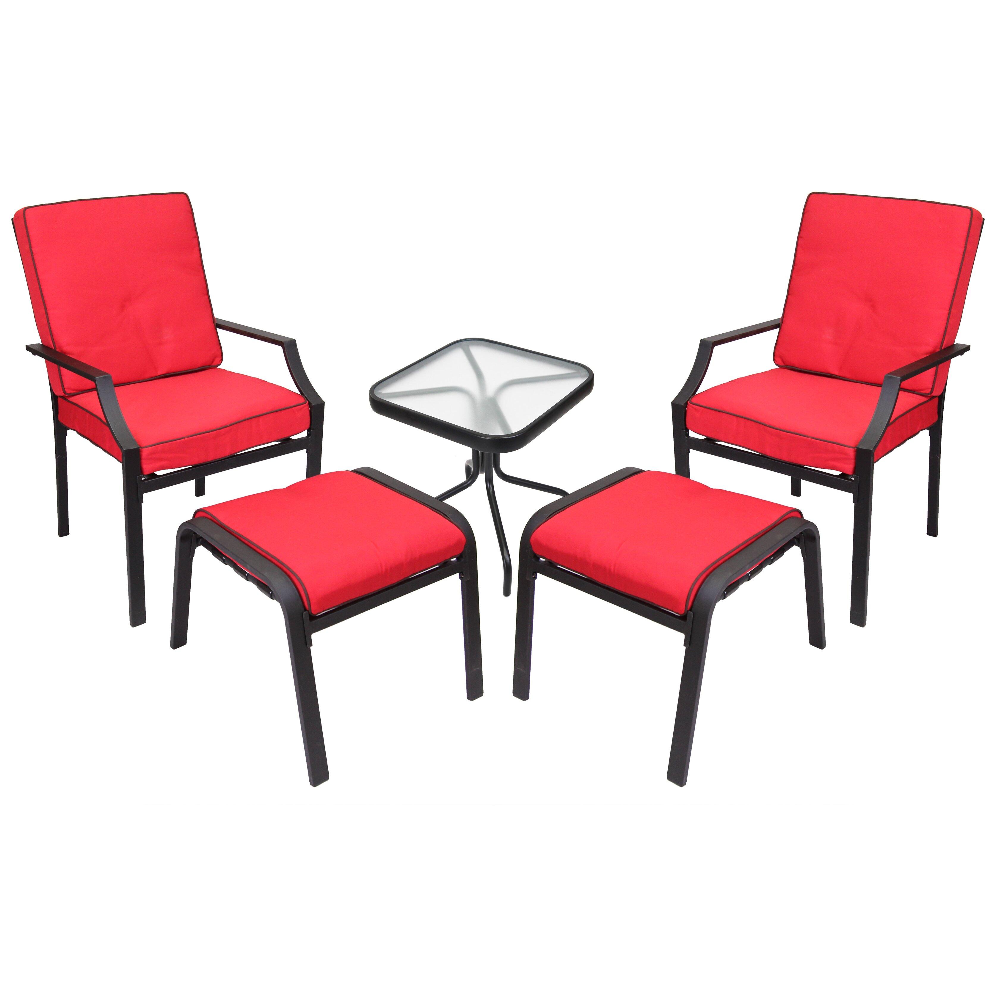 Jordan Manufacturing Sanoma 5 Piece Seating Group with