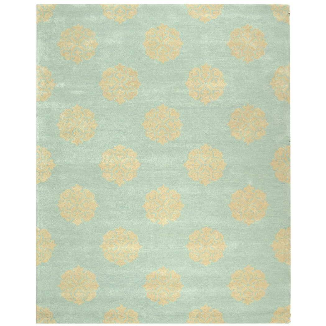 Safavieh Soho HandTufted Blue Area Rug & Reviews  Wayfair UK