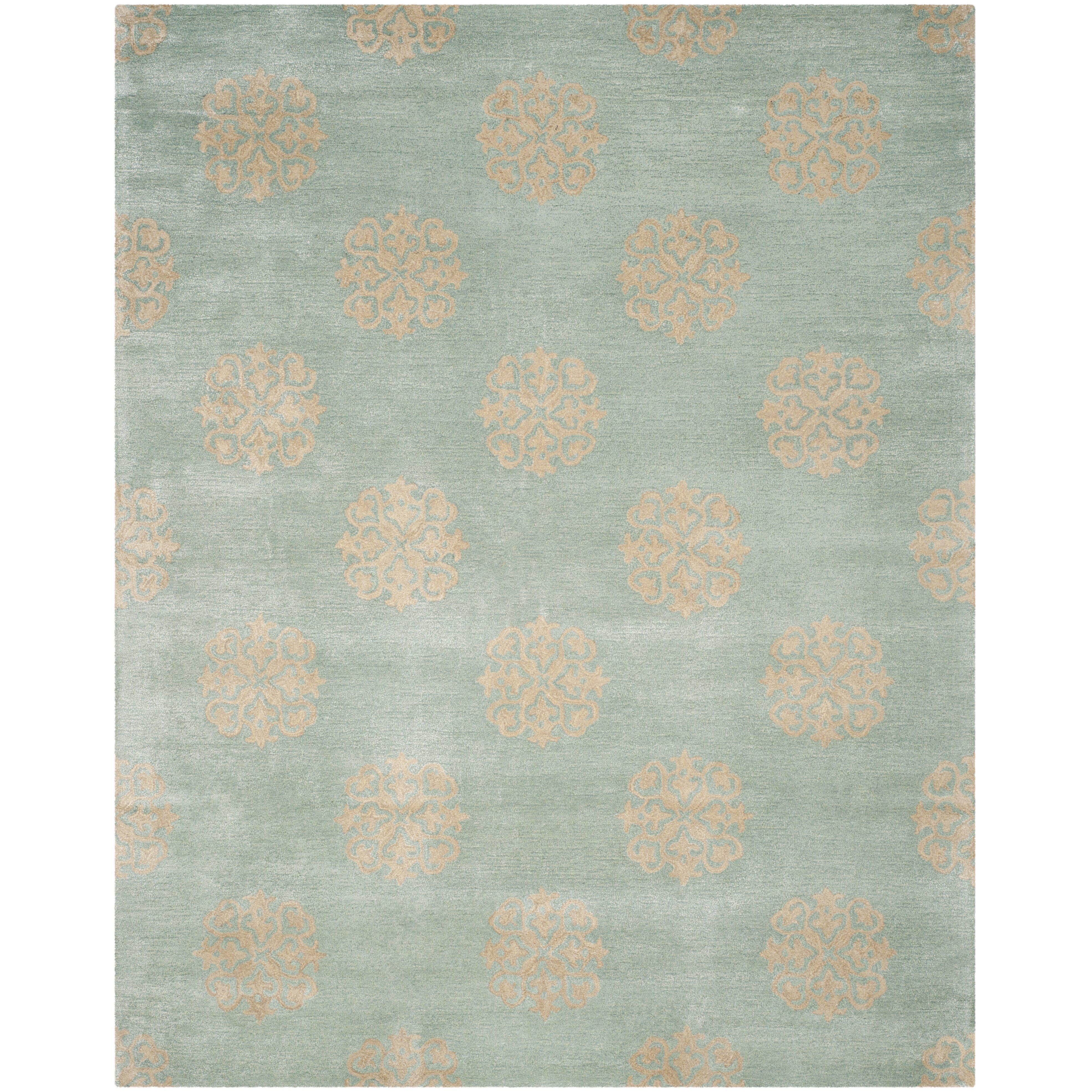 Safavieh Soho HandTufted Blue Area Rug & Reviews  Wayfair UK