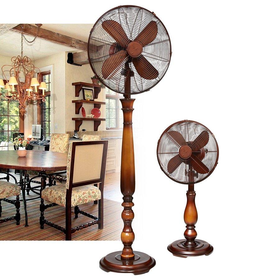 Sutter Oscillating Floor Fan Wayfair