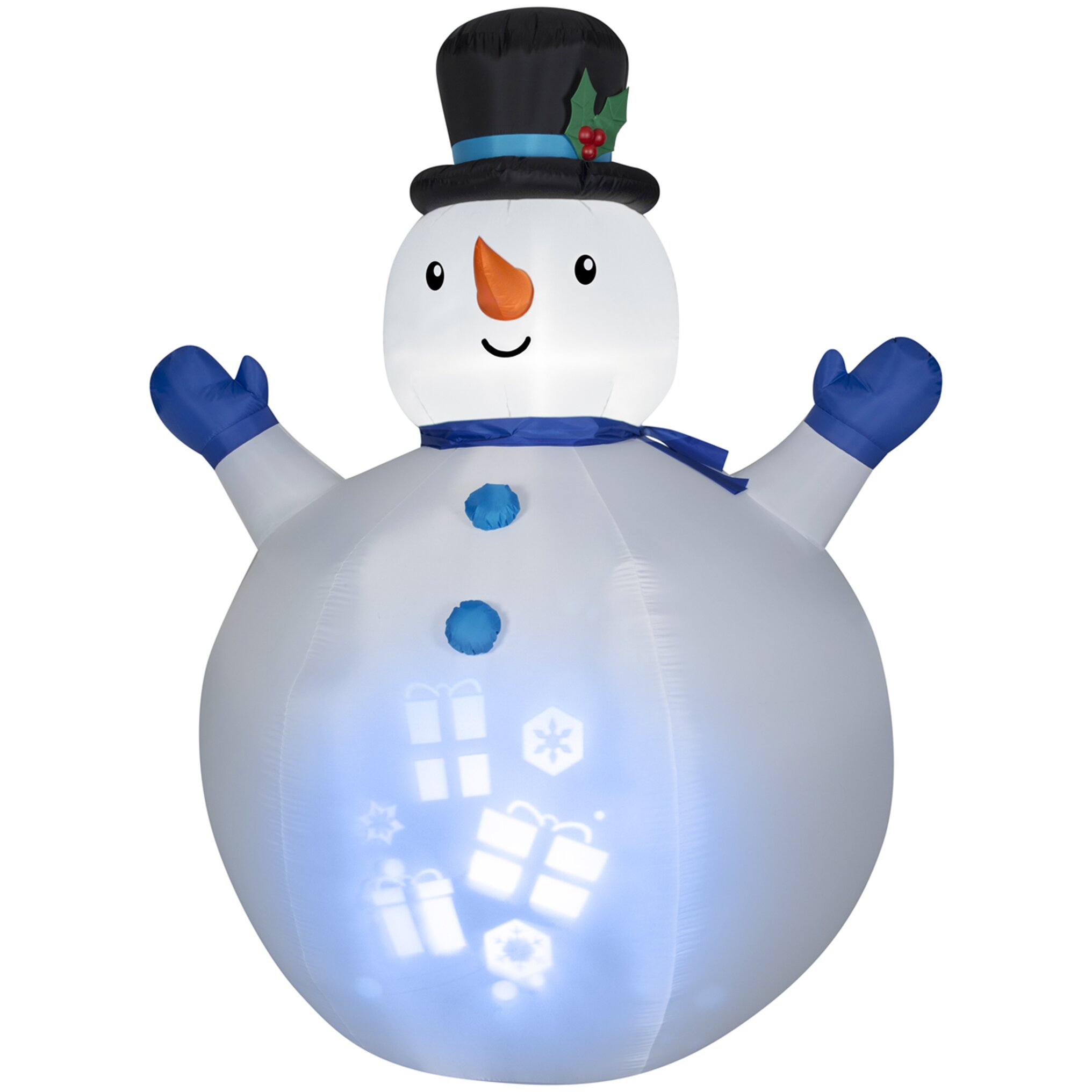 Gemmy Industries Airblown Inflatables Christmas Panoramic ...