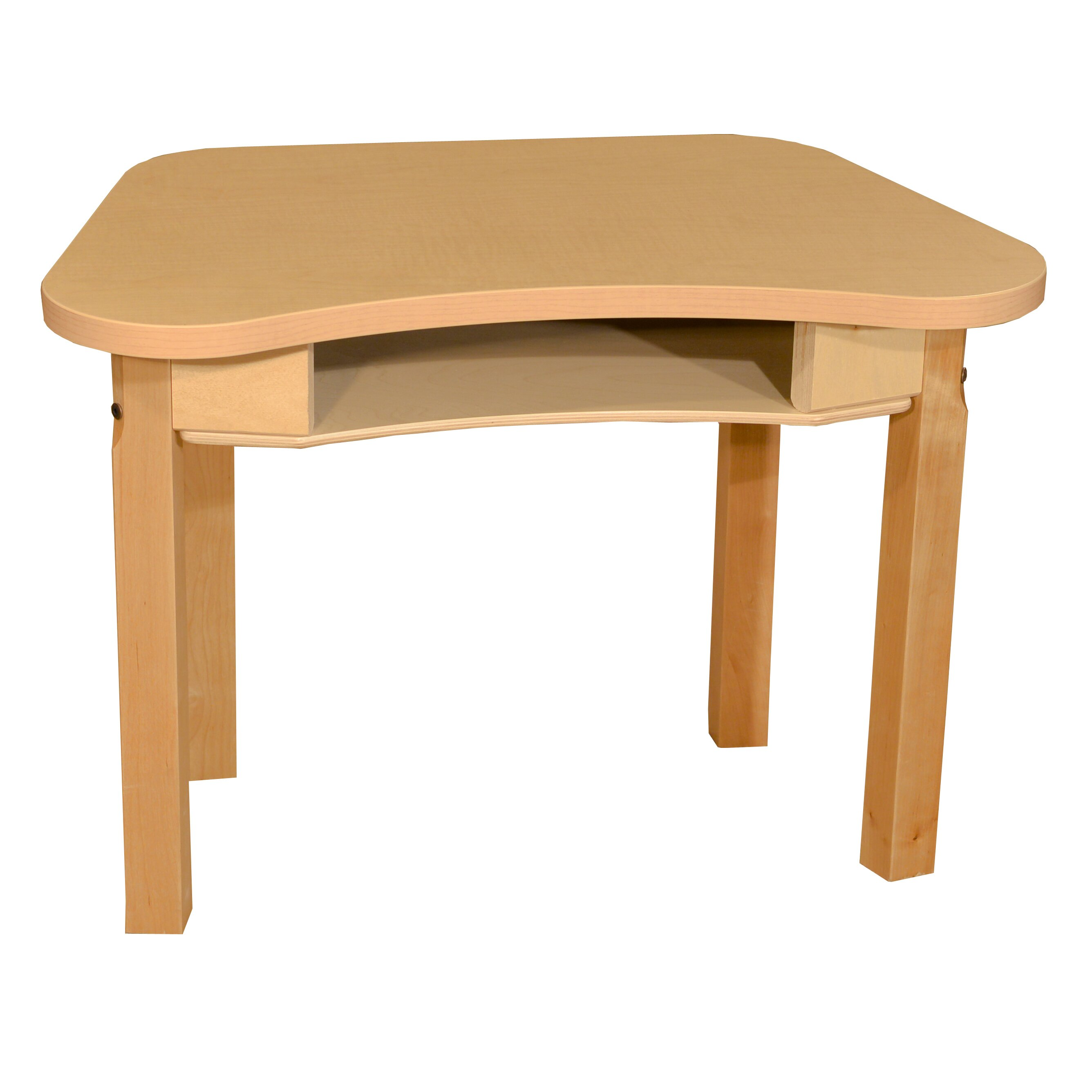 Marvelous photograph of  & Supplies Trapezoid Classroom Tables Wood Designs SKU: WDN2109 with #AD661E color and 2672x2672 pixels