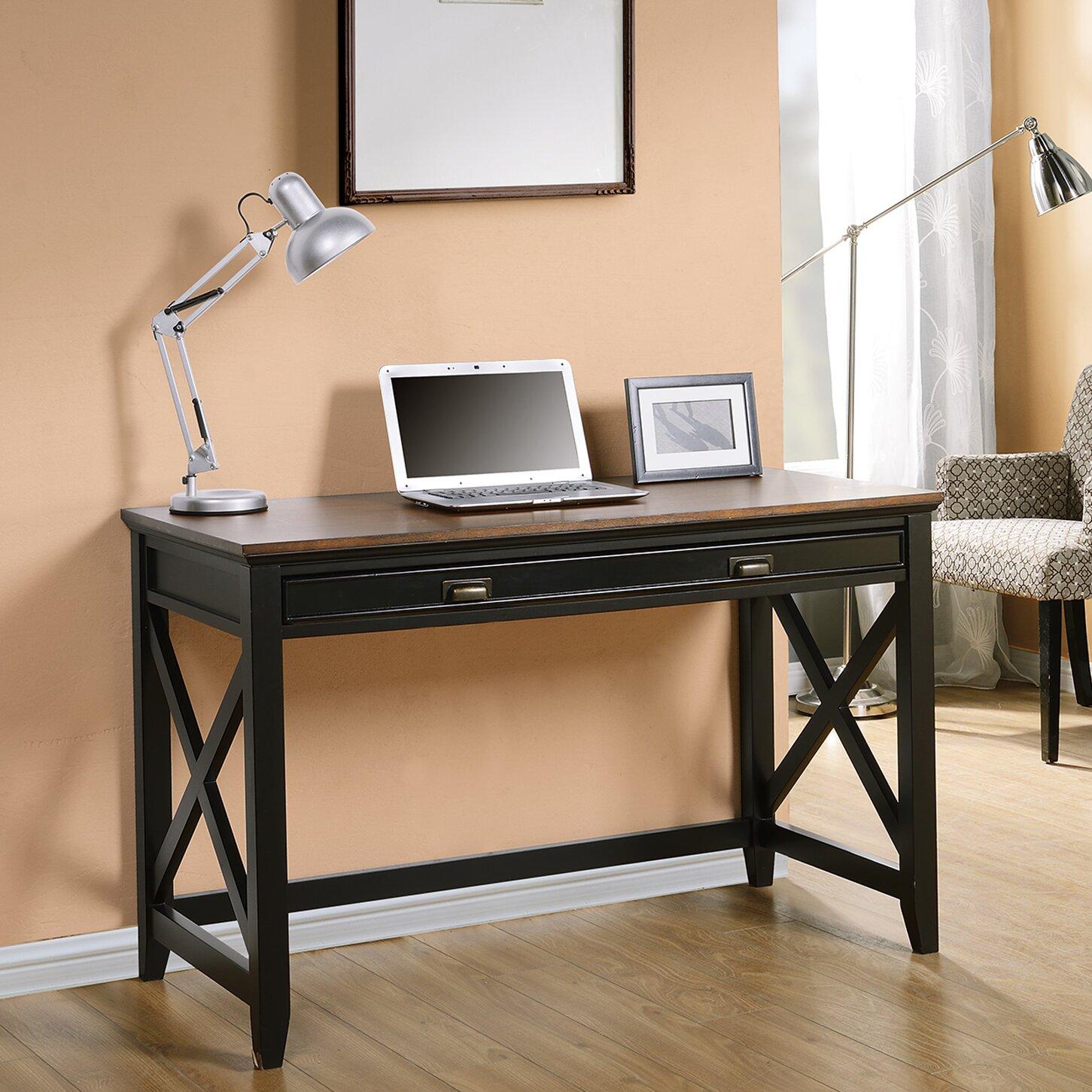 homestar writing desk with 1 drawer reviews wayfair. Black Bedroom Furniture Sets. Home Design Ideas