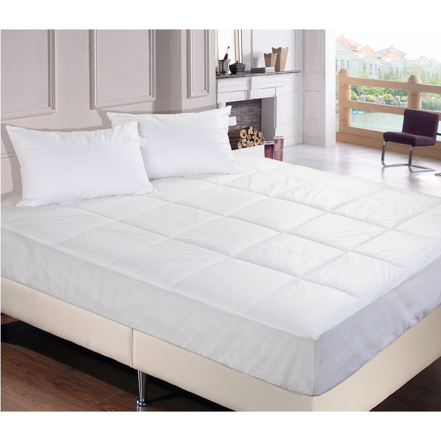 Permafresh bed bug dust mite control water resistant for Bed bug proof mattress pad