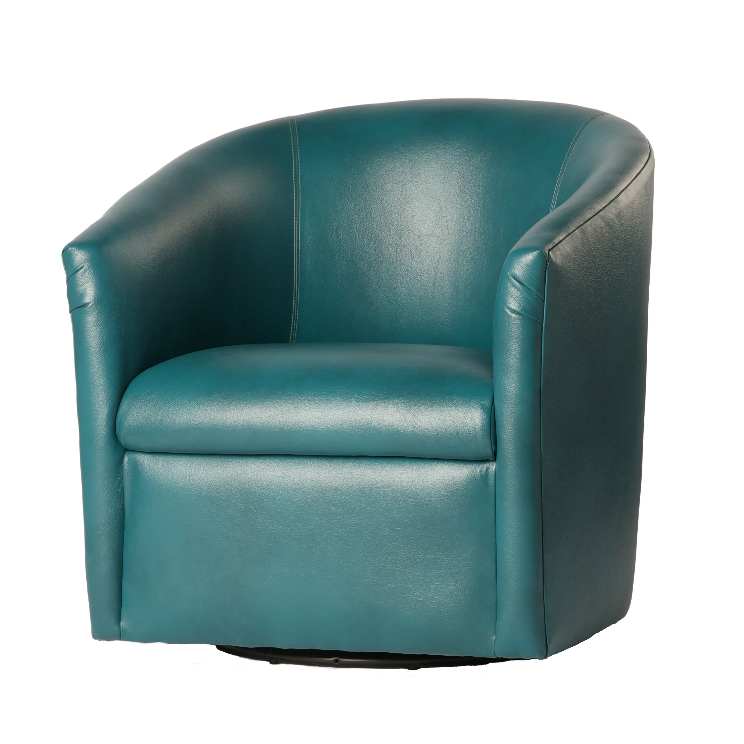 fort Pointe Draper Swivel Barrel Chair & Reviews