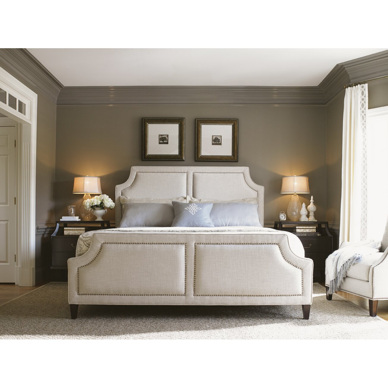 kensington place panel customizable bedroom set wayfair