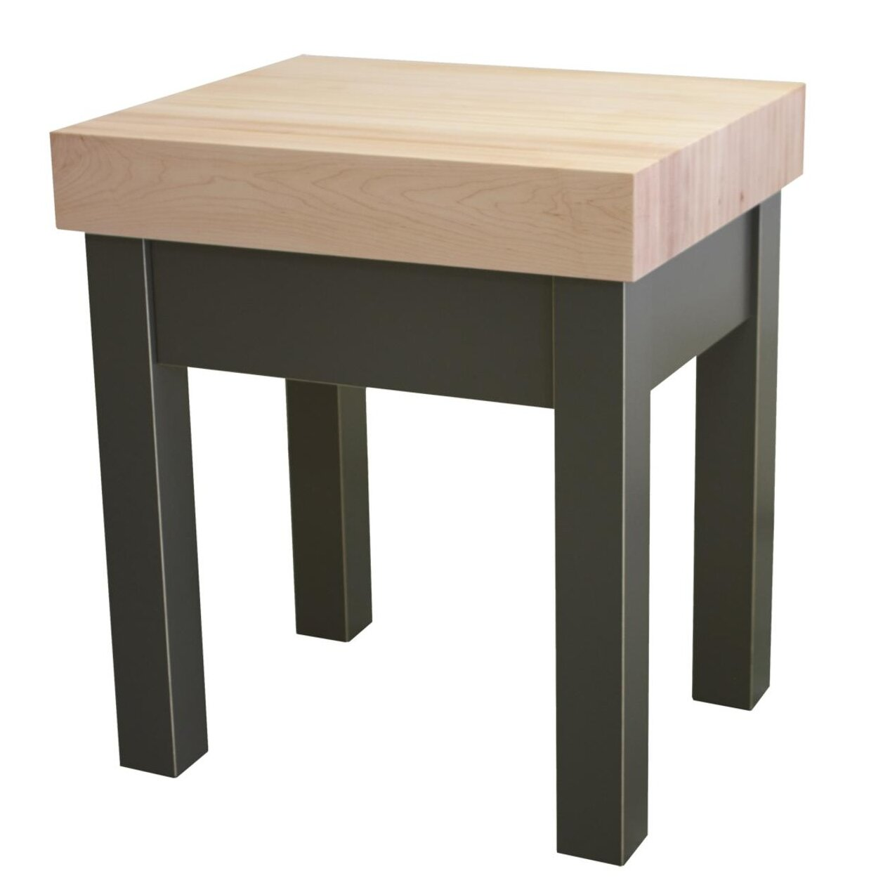 Prep Table with Butcher Block Top | Wayfair.ca