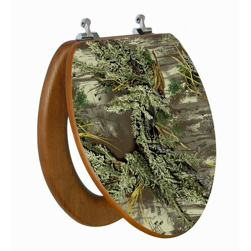 realtree camouflage elongated toilet seat wayfair
