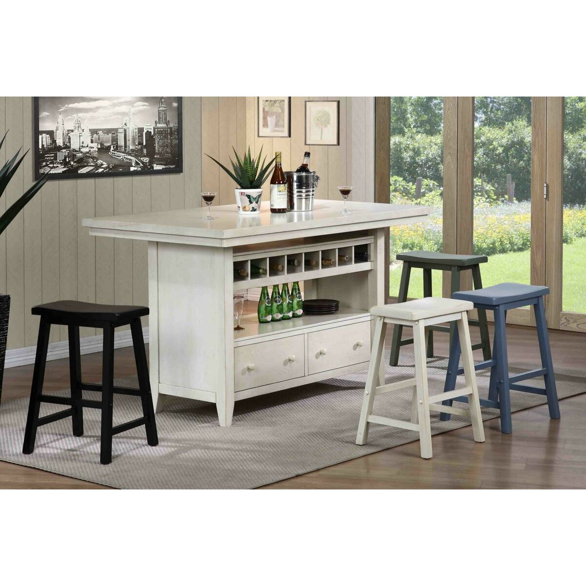 Eci Furniture Four Seasons Kitchen Island Reviews