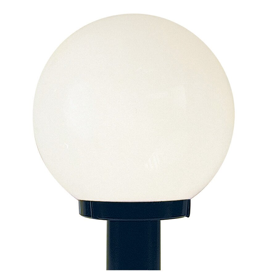 globe 1 light outdoor post light by sunset lighting. Black Bedroom Furniture Sets. Home Design Ideas