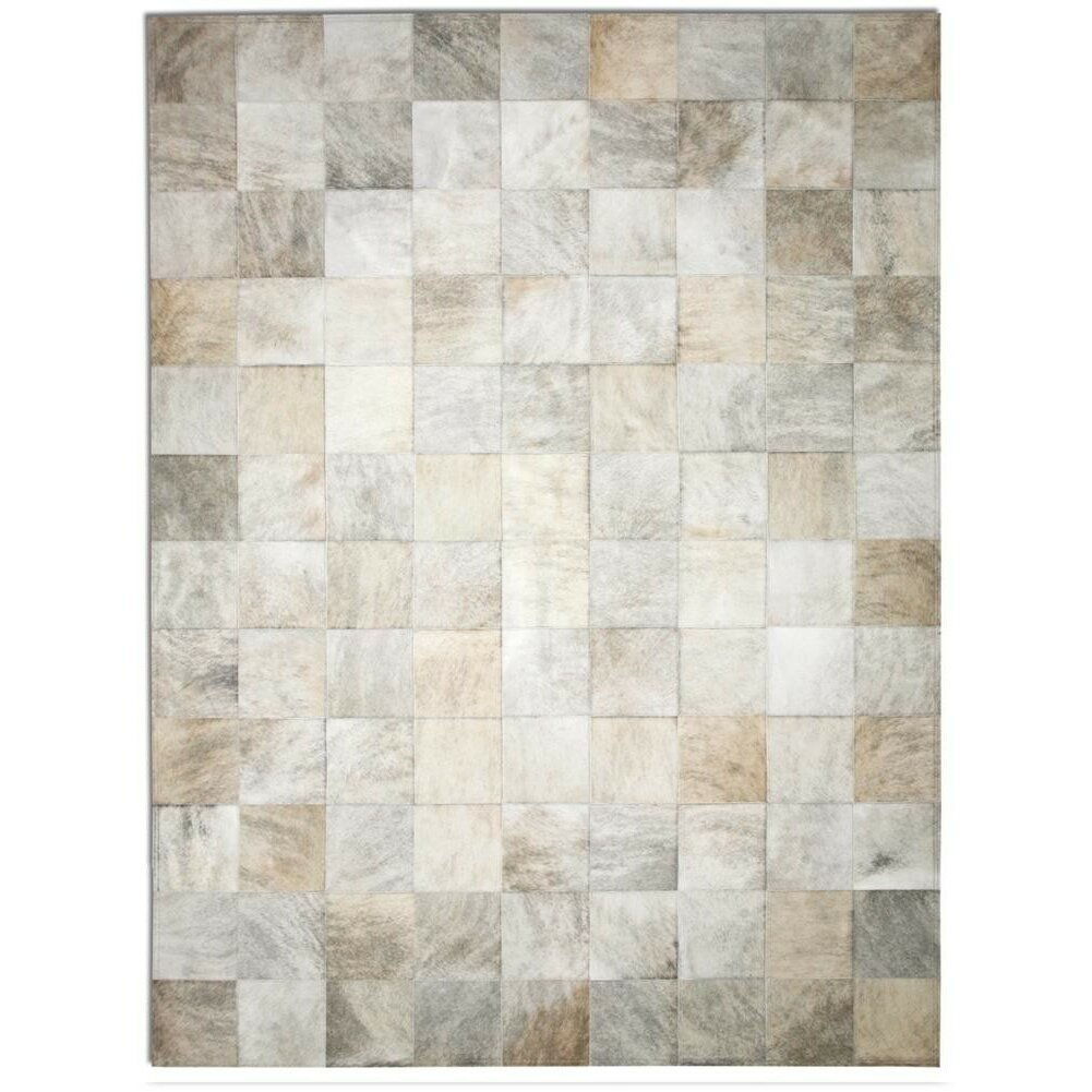 Pure Rugs Patchwork Cowhide Park