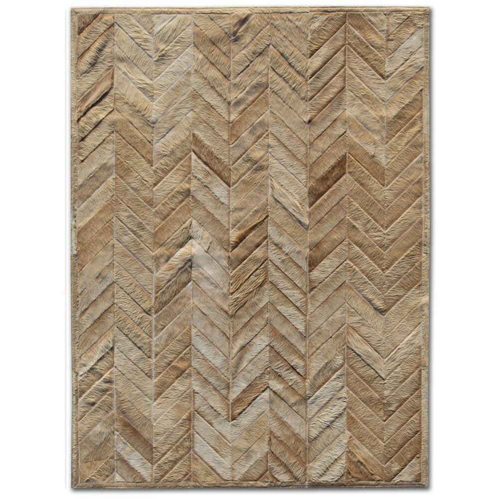 Pure Rugs Patchwork Cowhide Yves