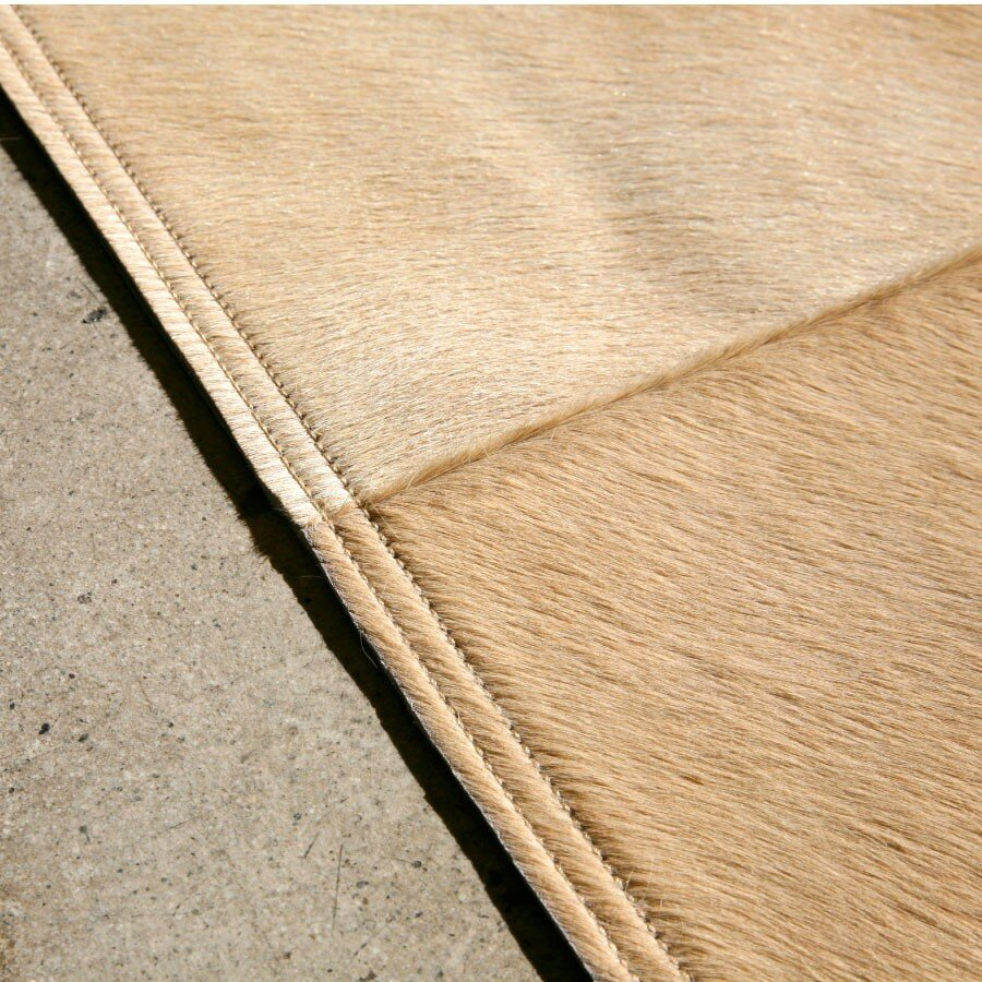 Pure Rugs Patchwork Cowhide Mies