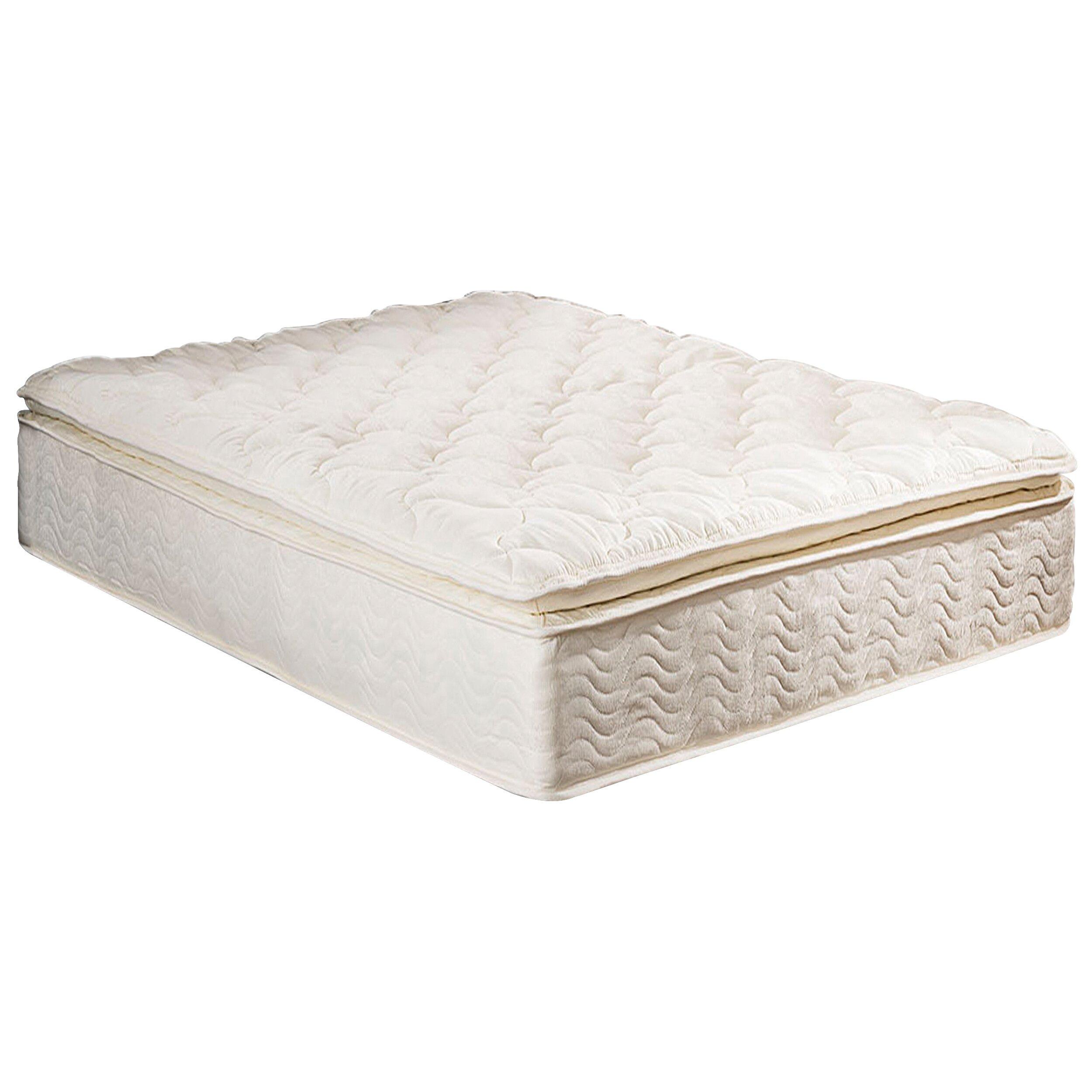 """Textrade 11"""" Innerspring Plush Pillow Top Mattress"""