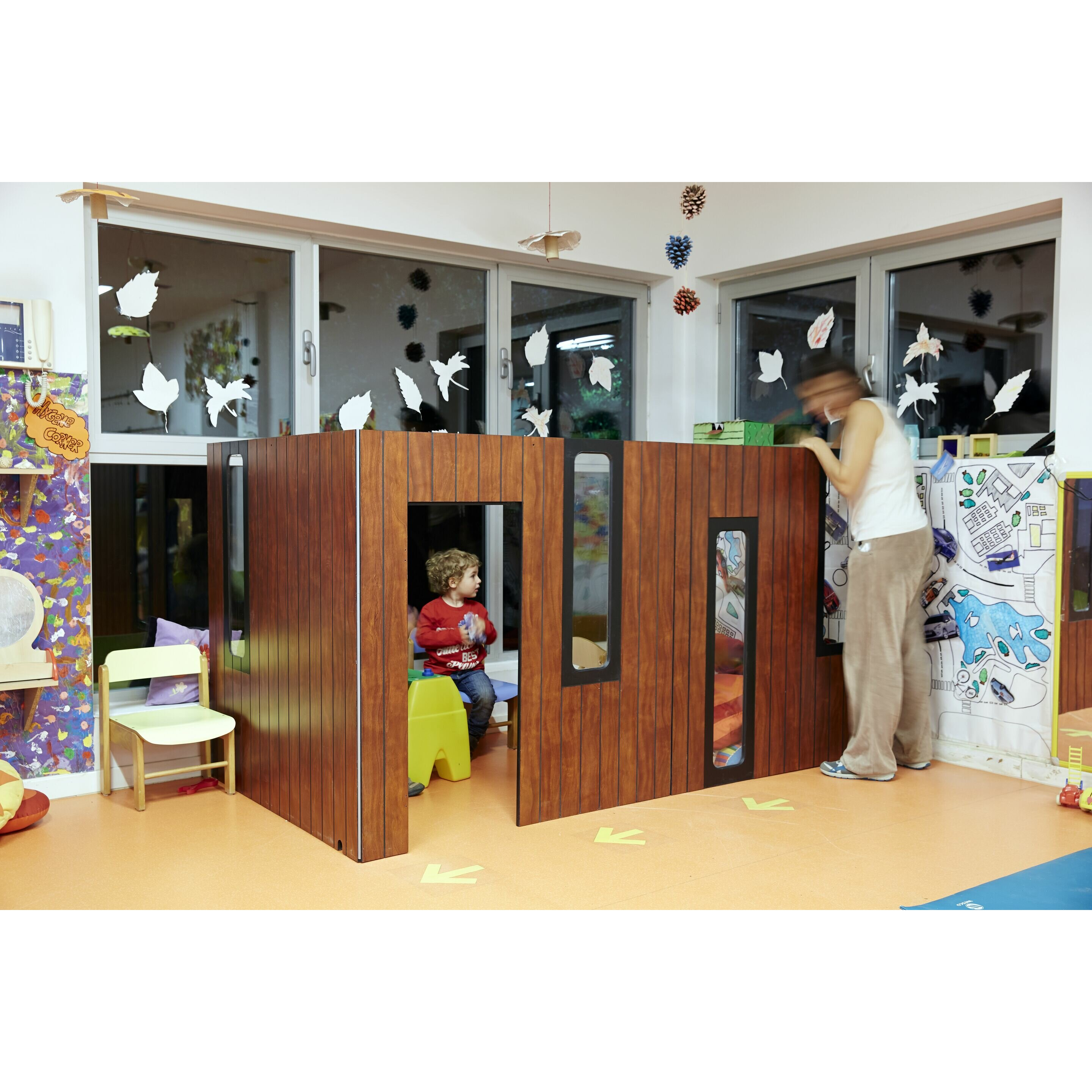 hobikken indoor corner playhouse wayfair uk