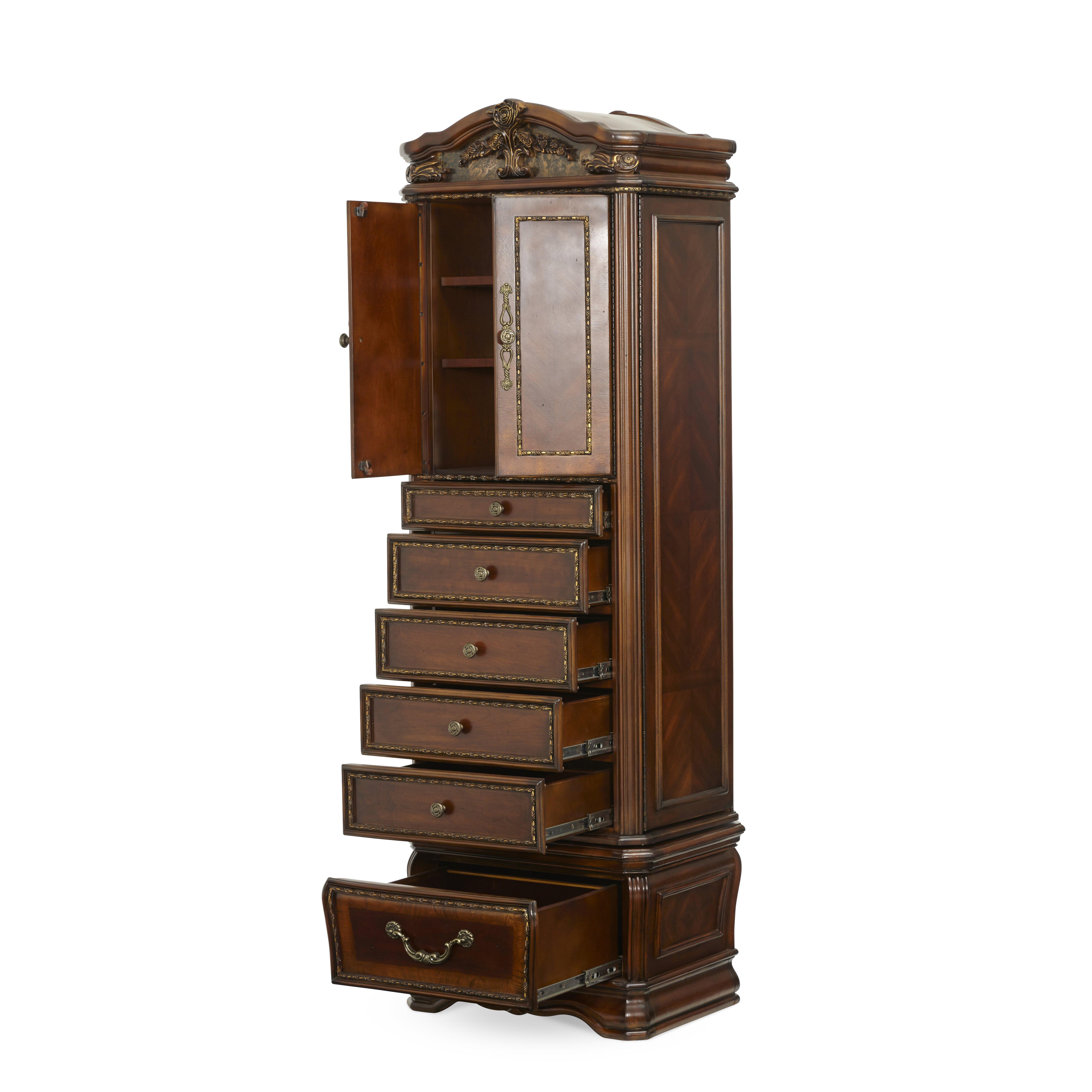 oppulente swivel 5 drawer lingerie chest wayfair. Black Bedroom Furniture Sets. Home Design Ideas