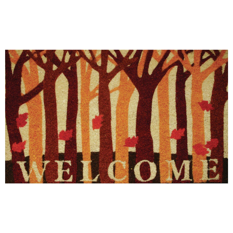 Robert Allen Home And Garden Fall Woods Doormat Reviews Wayfair