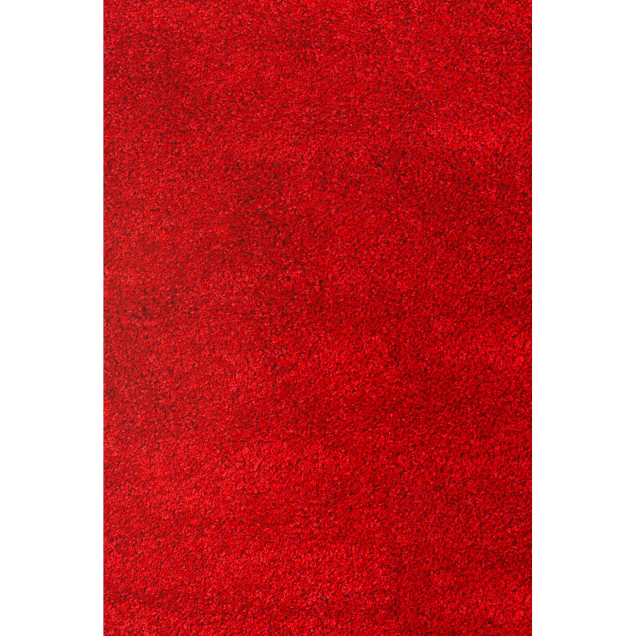 Abacasa Domino Teal Area Rug Reviews: Comfort Shag Red Area Rug