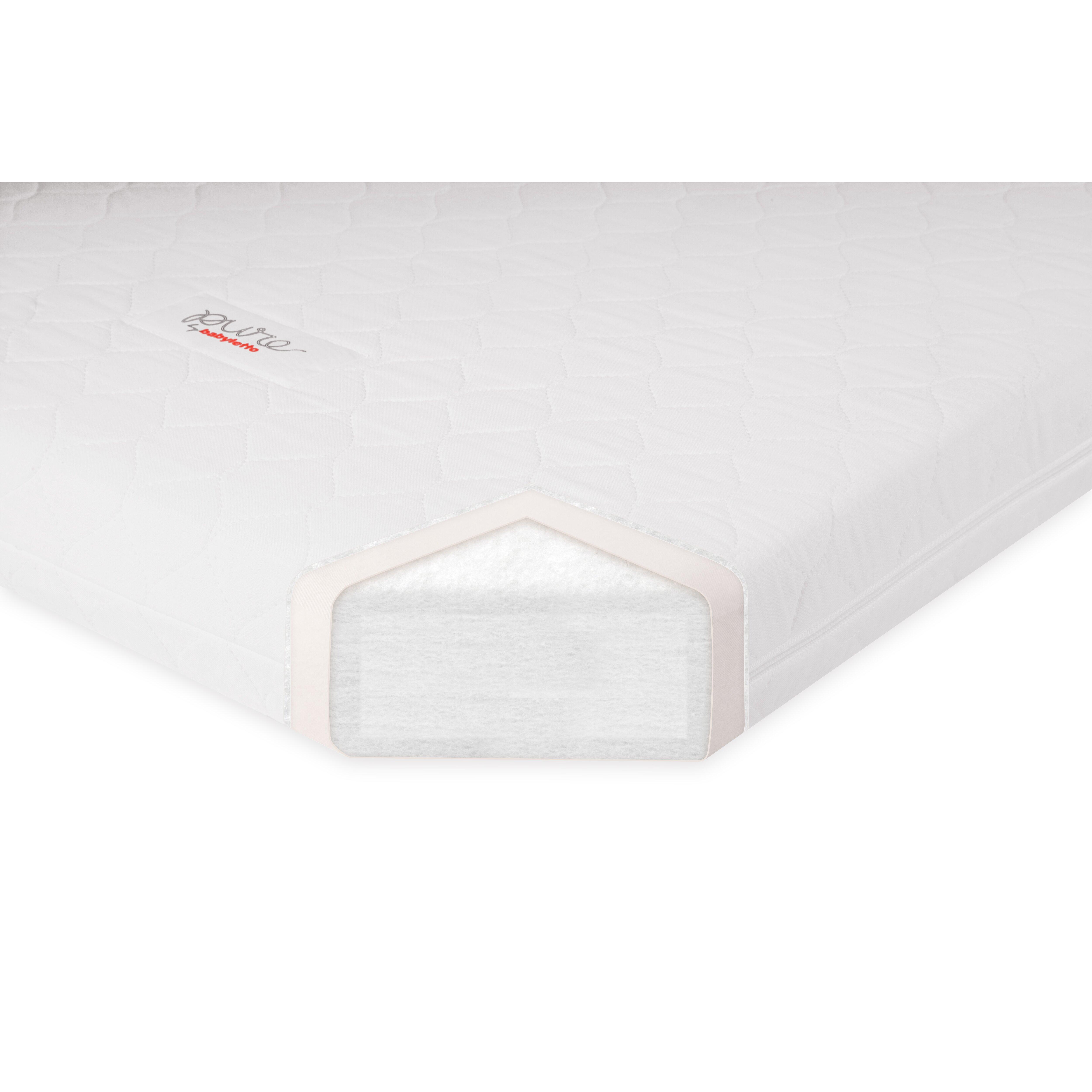 babyletto PURE Core Mini Dry Organic Crib Mattress