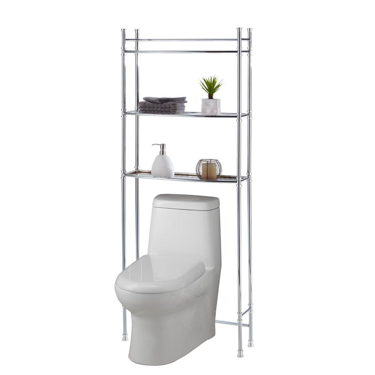 """25"""" X 63"""" Bathroom Space Saver Shelf"""
