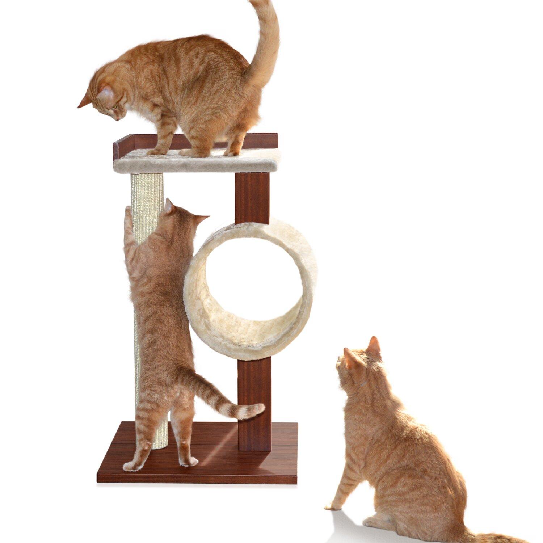 Modern Cat Activity Tree Scratching Post Wayfair