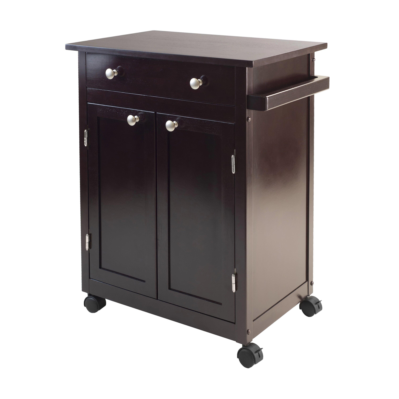 Winsome Evan Kitchen Cart Reviews Wayfair