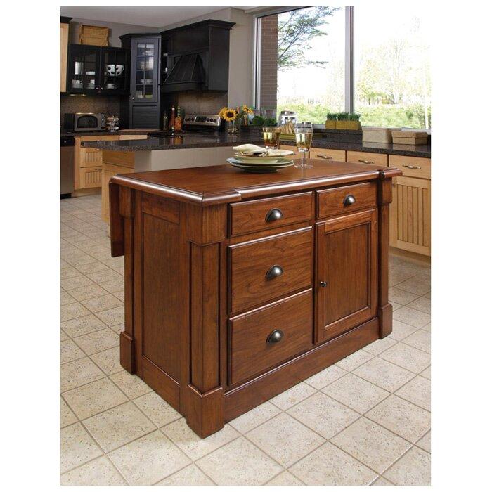 home styles aspen kitchen island reviews wayfair