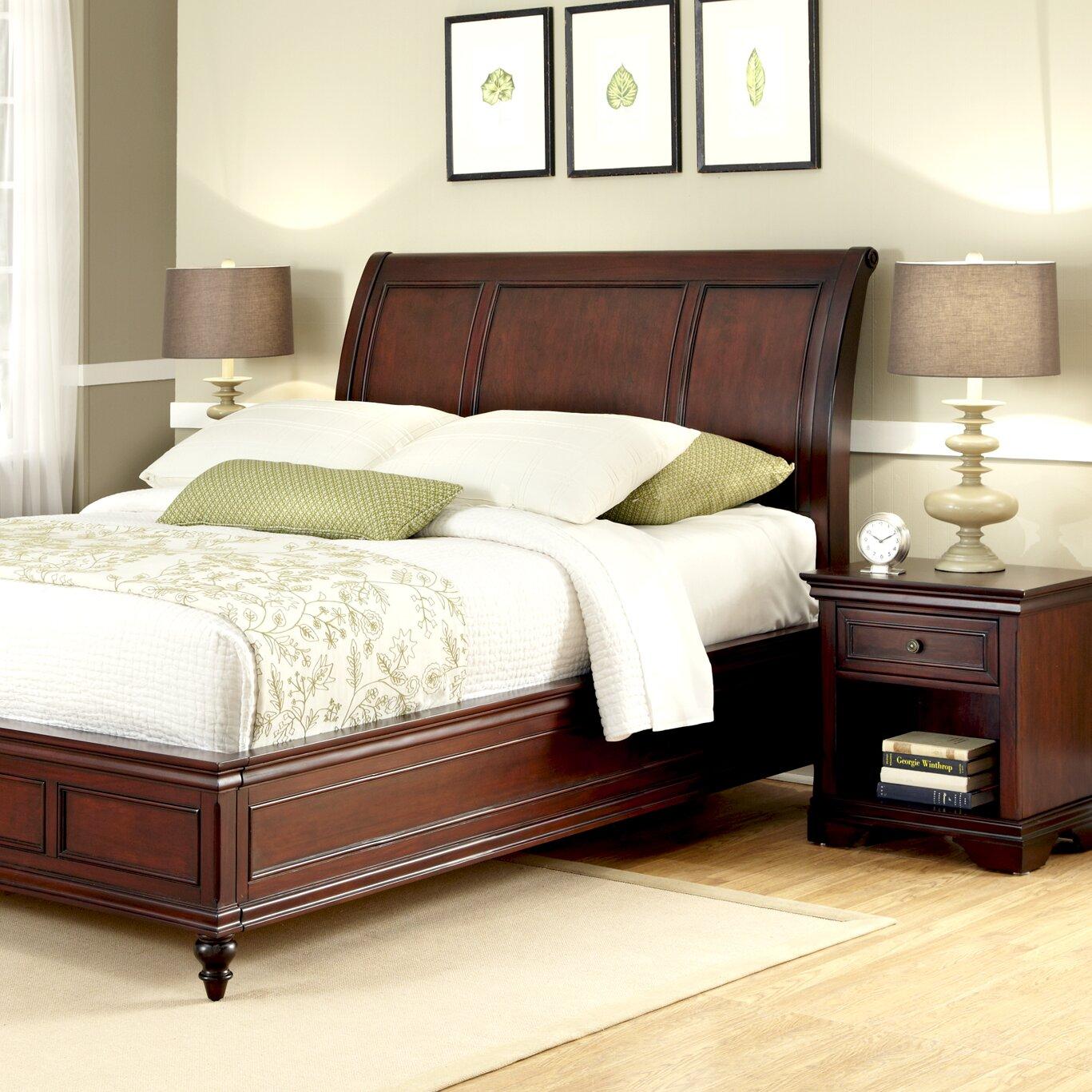 Home Styles Lafayette Platform 2 Piece Bedroom Set Reviews Wayfair