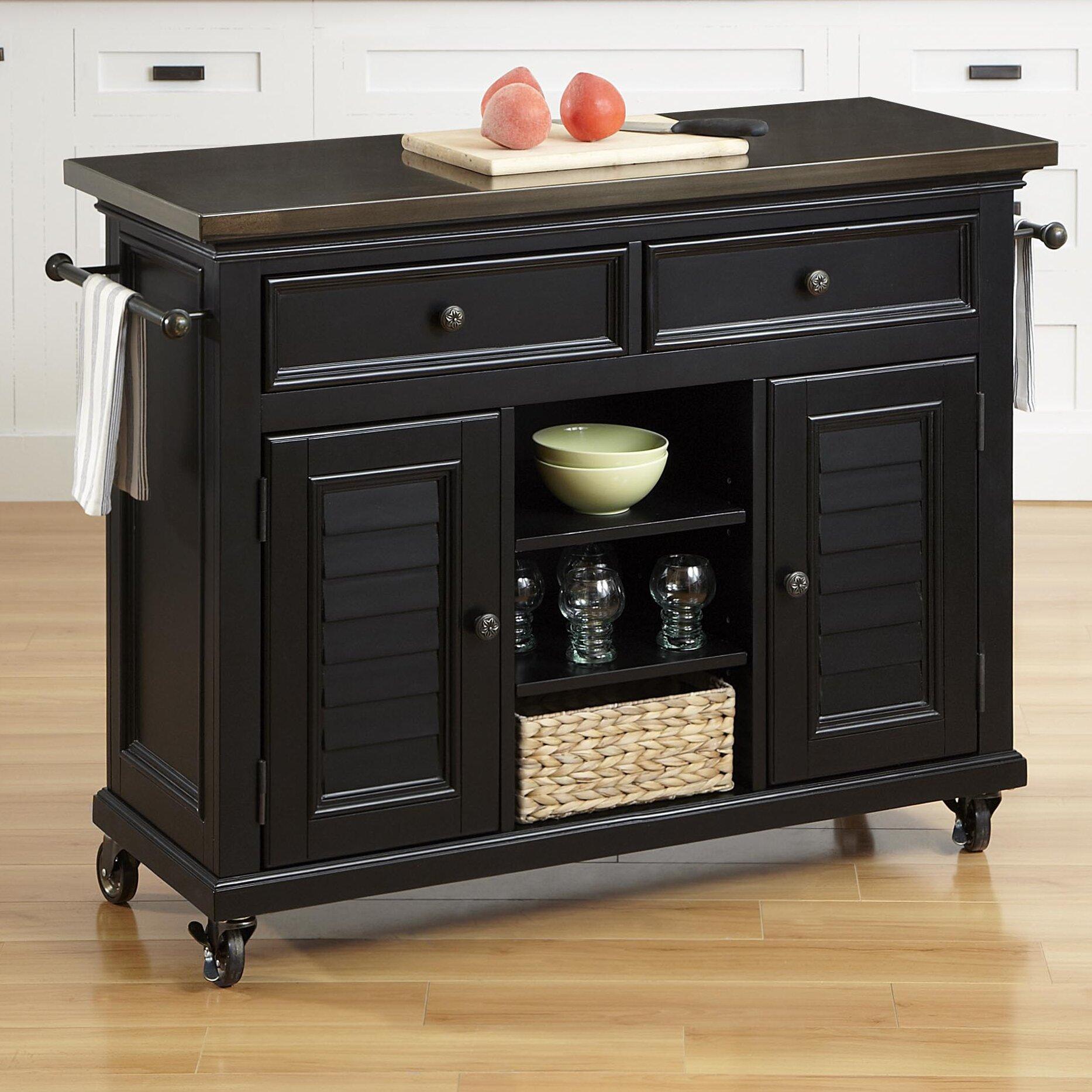 home styles bermuda kitchen island reviews wayfair