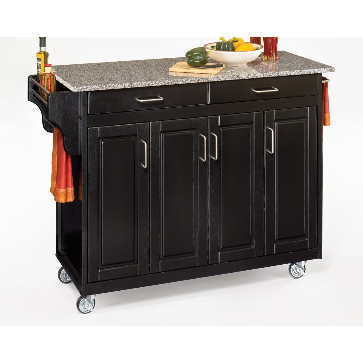 home styles create a cart kitchen island with granite top home styles create a cart kitchen island with granite top